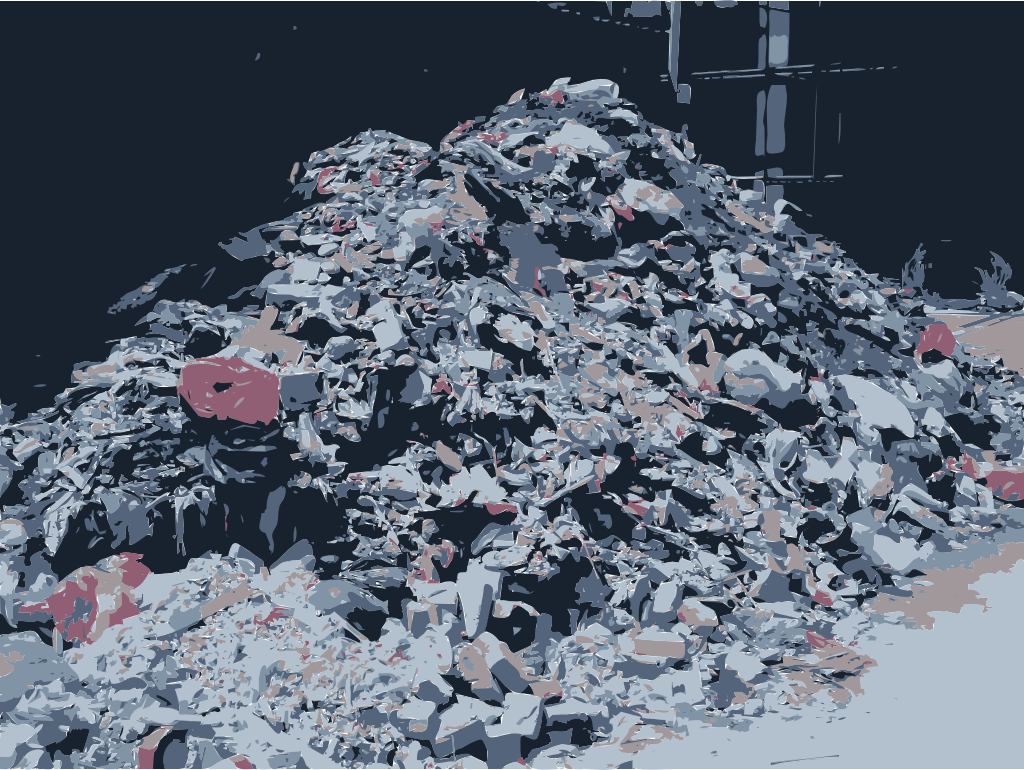 A CaoChangDi Trash Heap