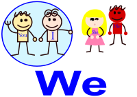 "English First Person Plural Pronoun ""We"""