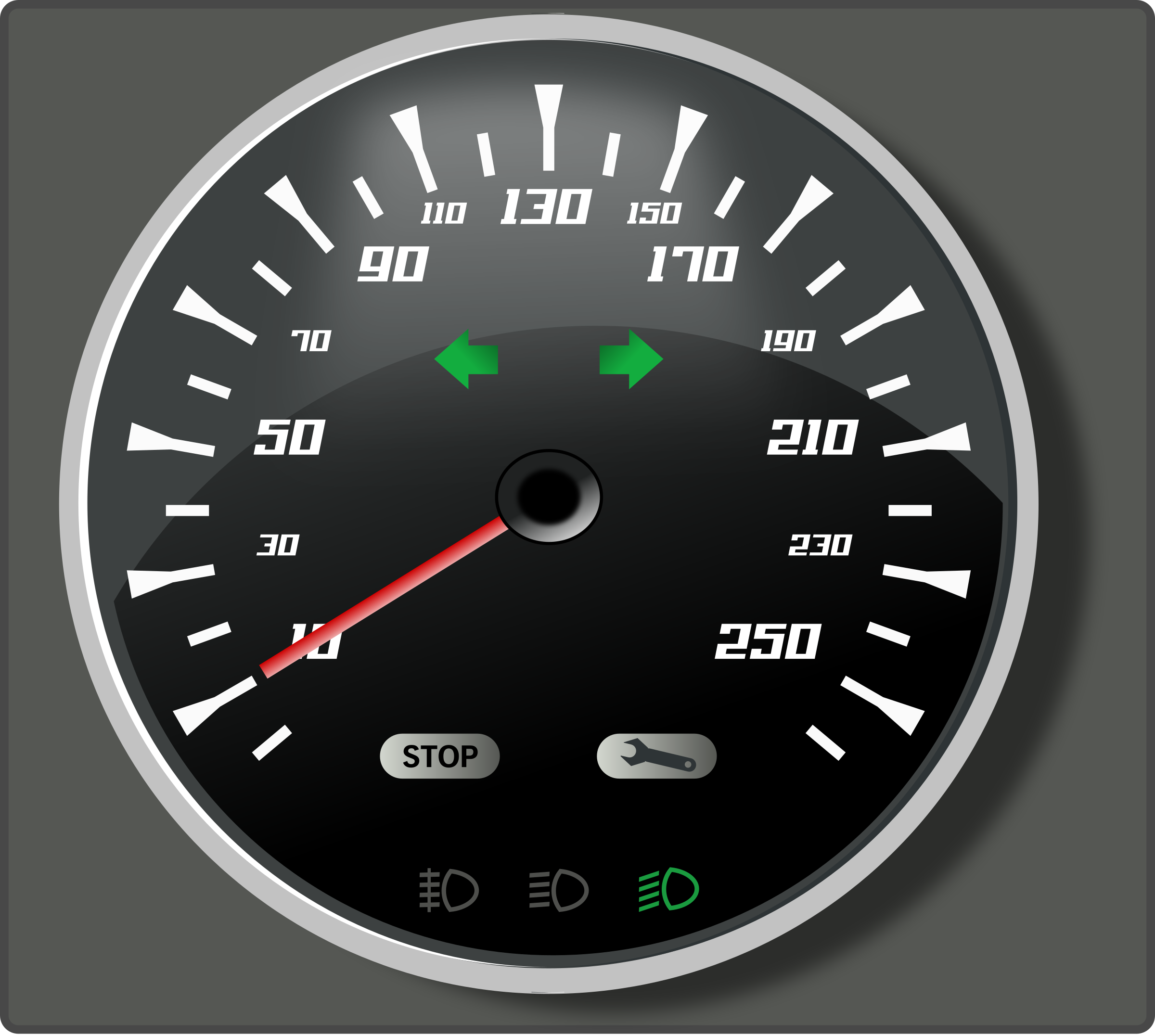 speedometer II by rg1024