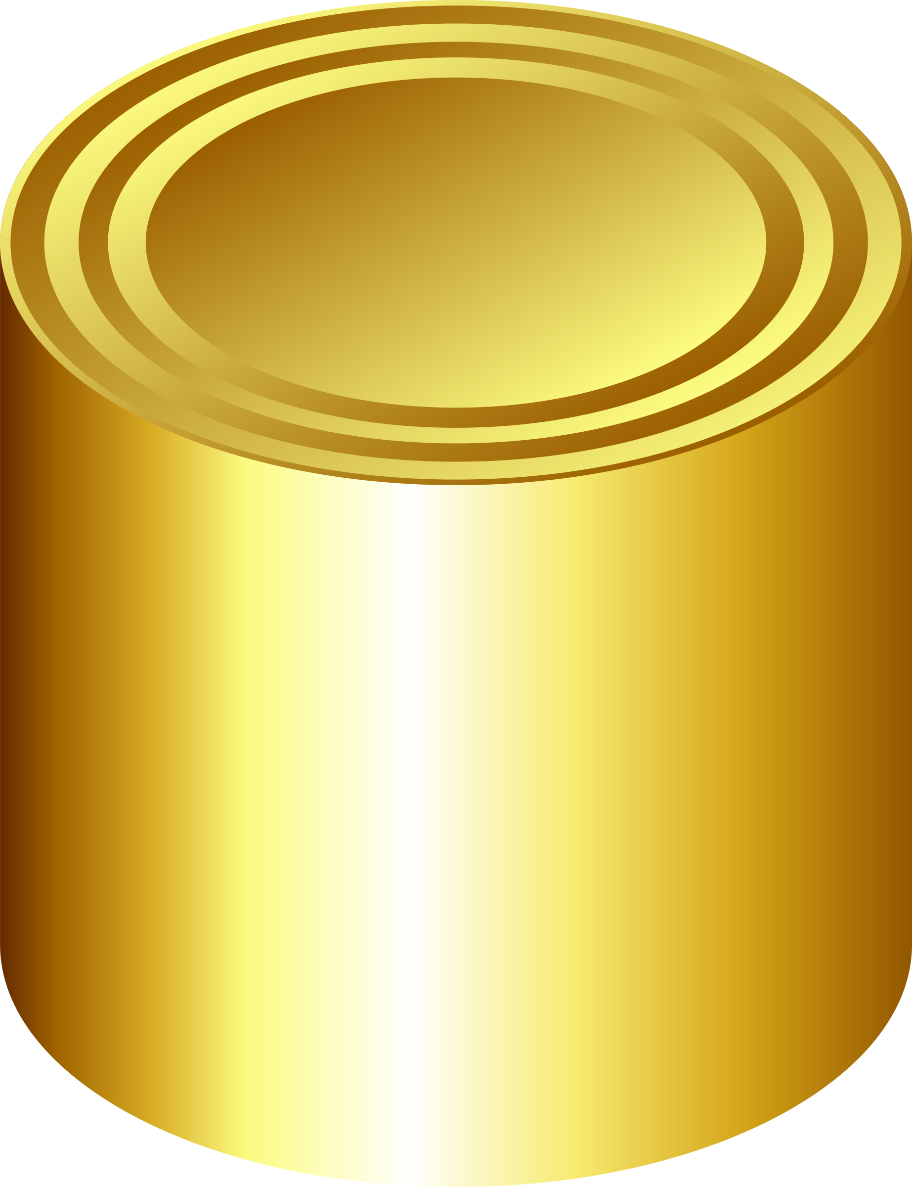 Gold can by jhnri4