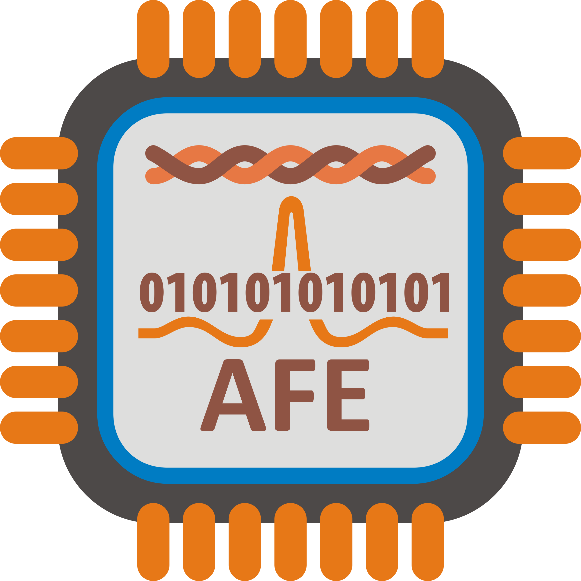 ADSL AFE Chip by pgbrandolin
