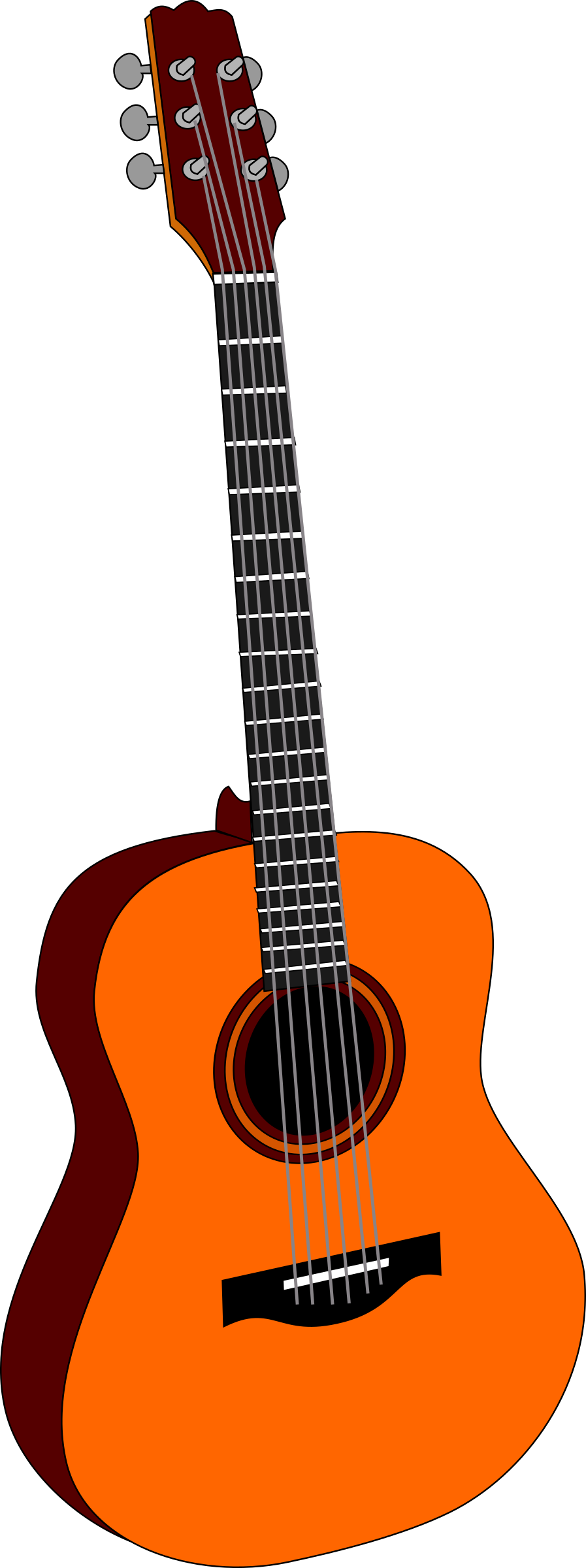 guitar 1 by papapishu