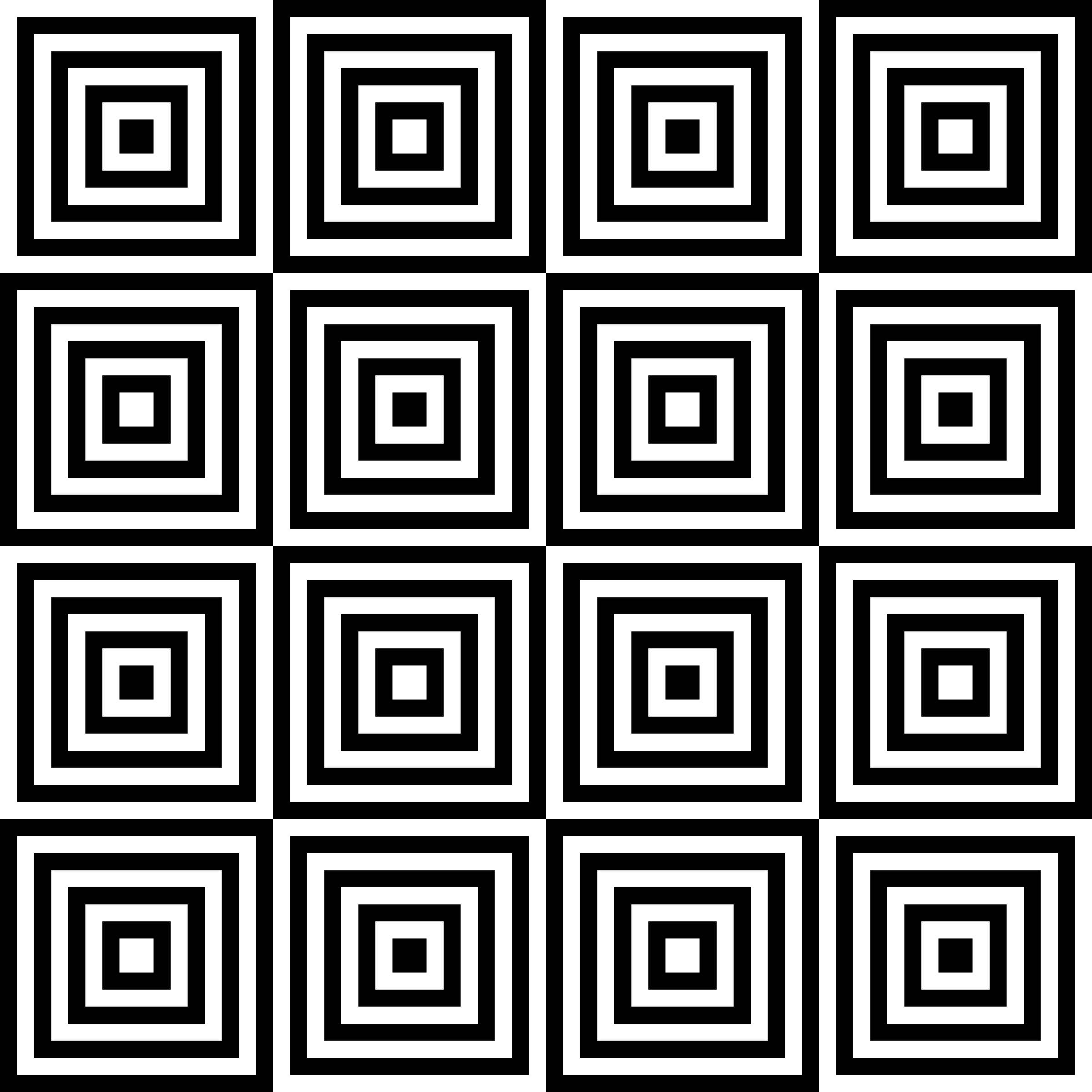 square-target-chessboard by 10binary