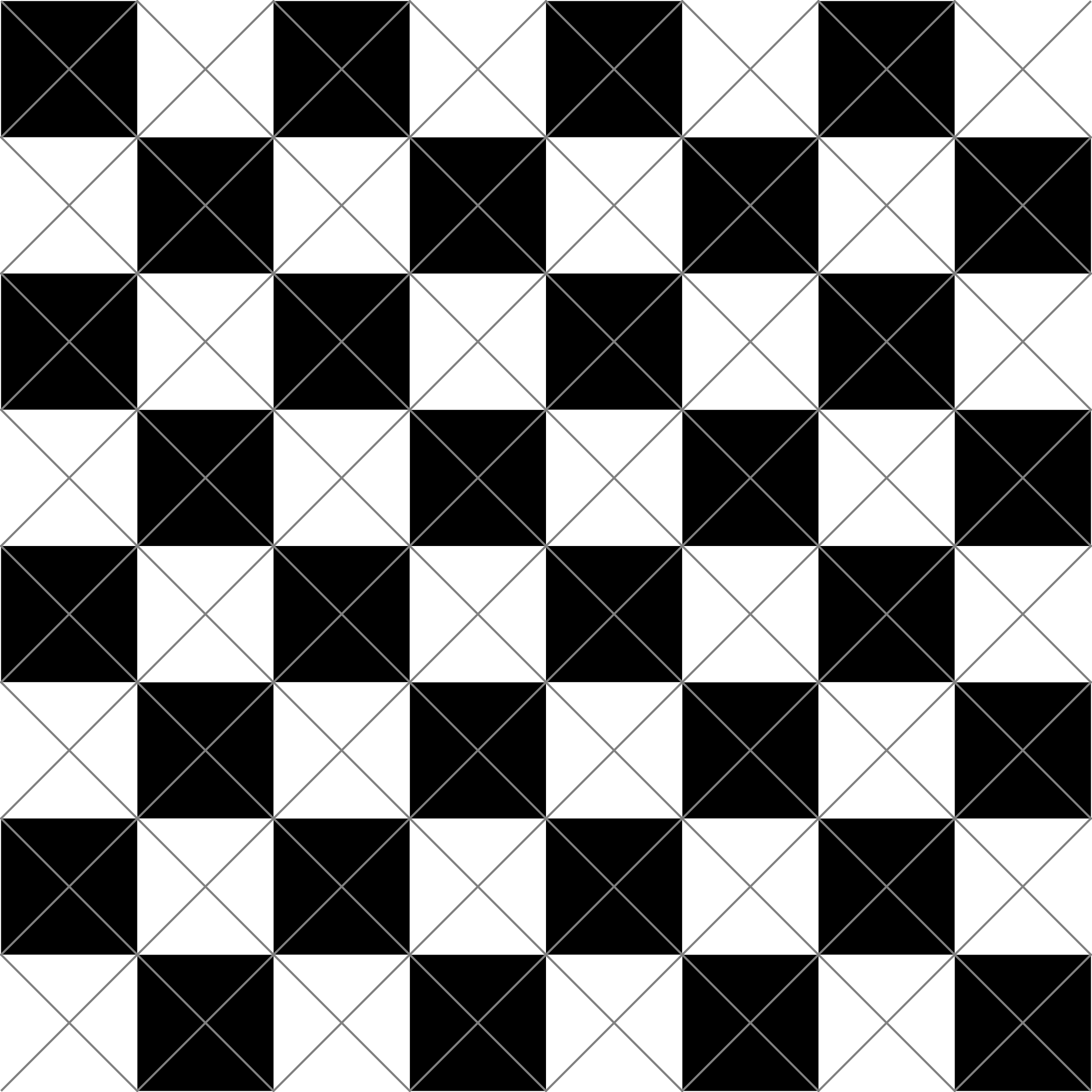 chessboard-diagonal-cuts by 10binary