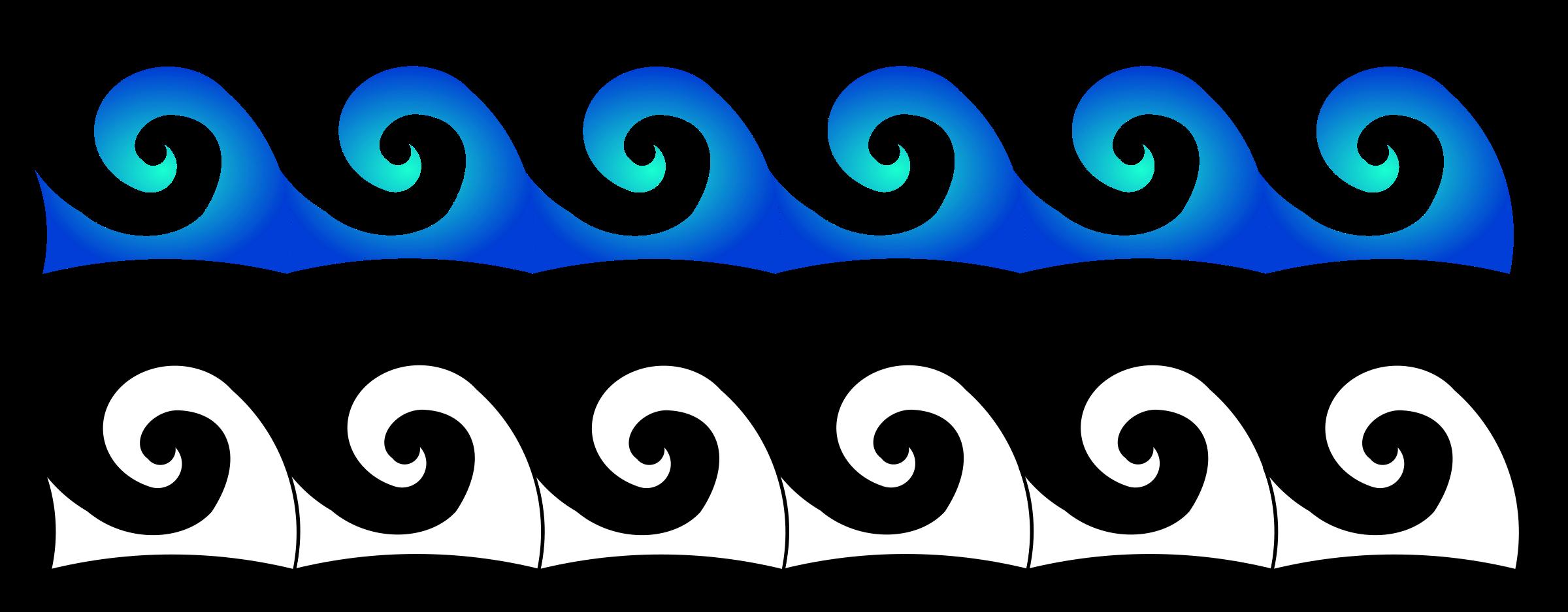 Beach Waves Clip Art Clipart - waves