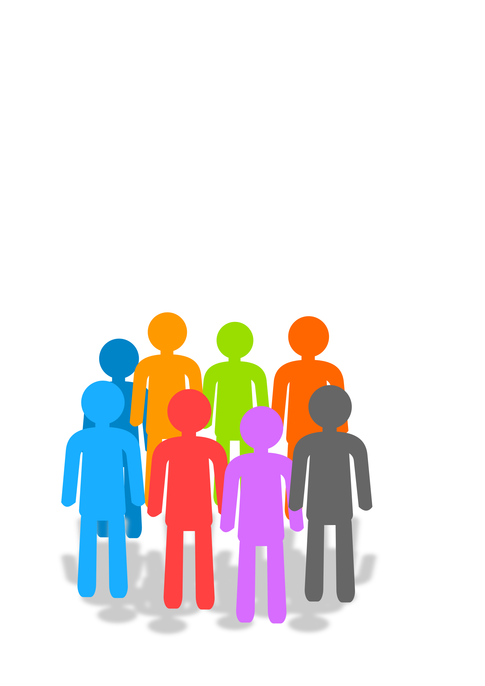 clipart population Group of People Clip Art Transparent Small Group of People Clip Art