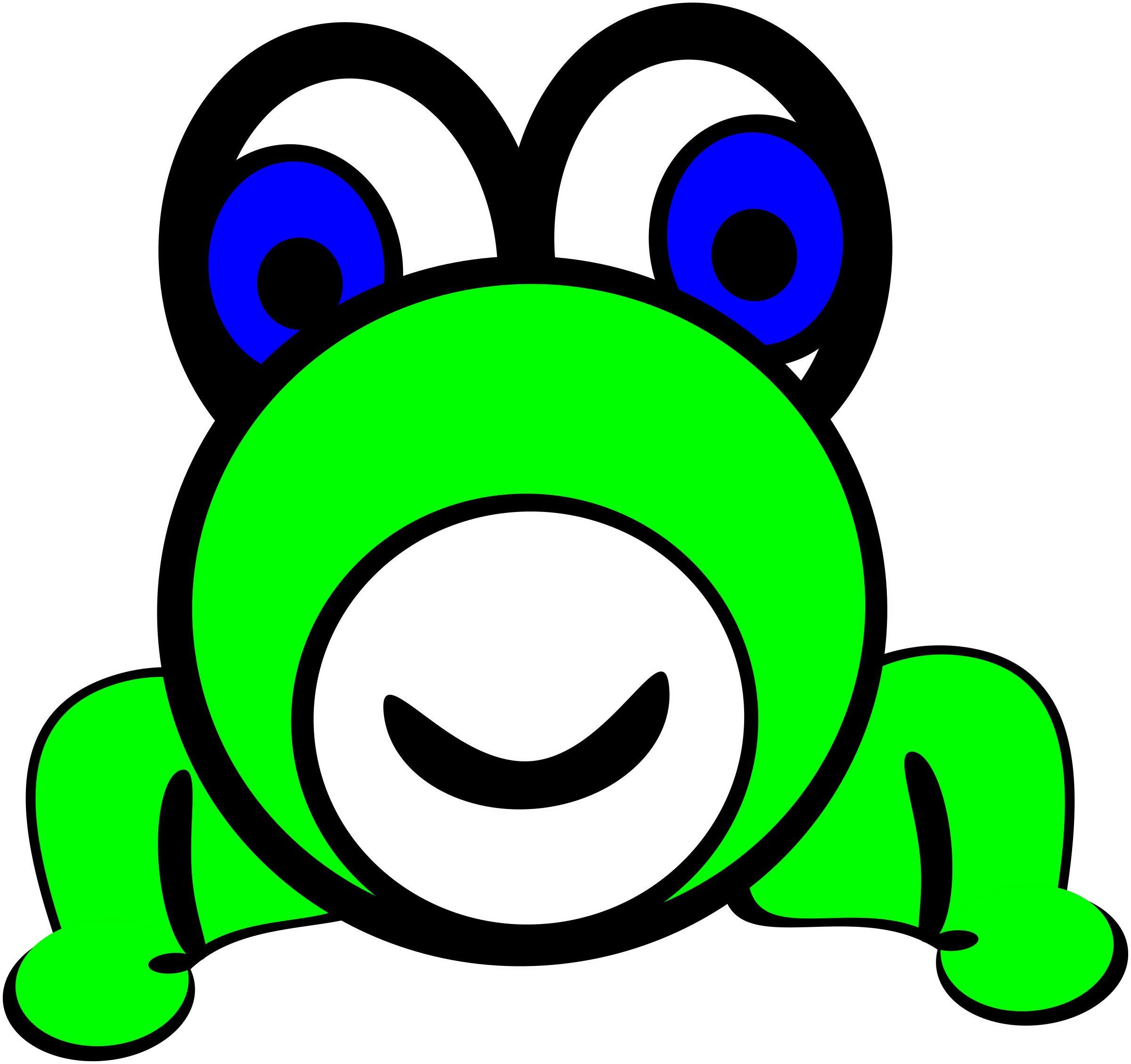 frog by PeterBrough