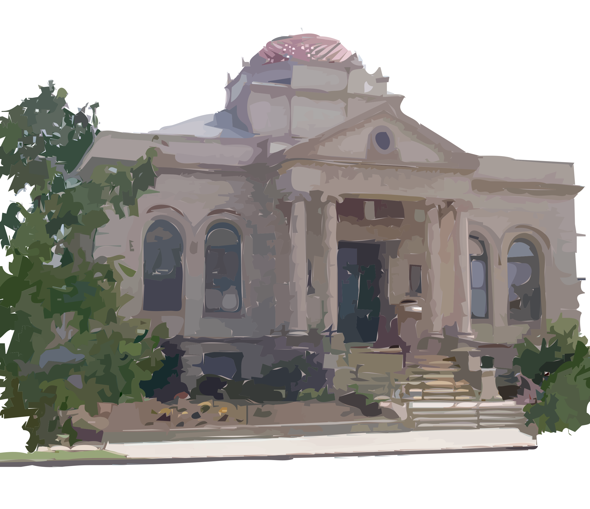 clipart carnegie library building