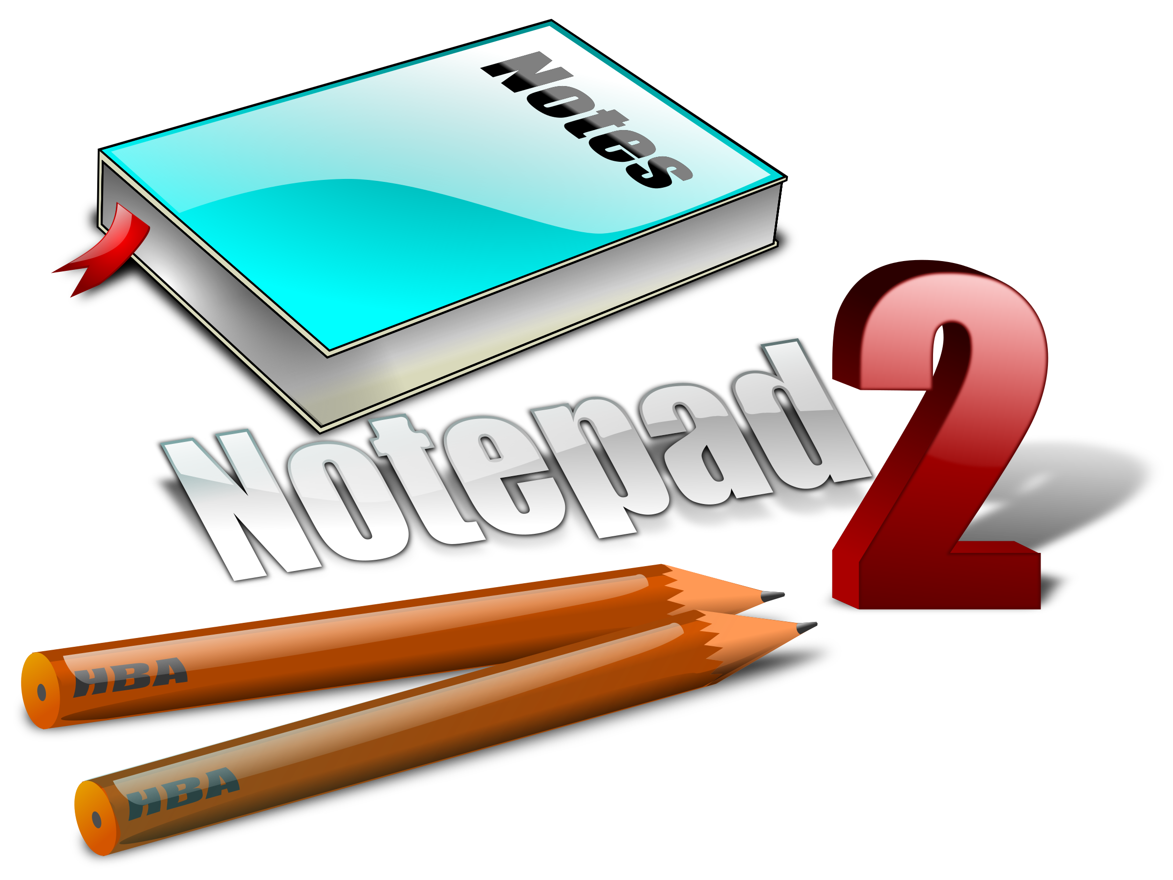 how to open notepap as editor