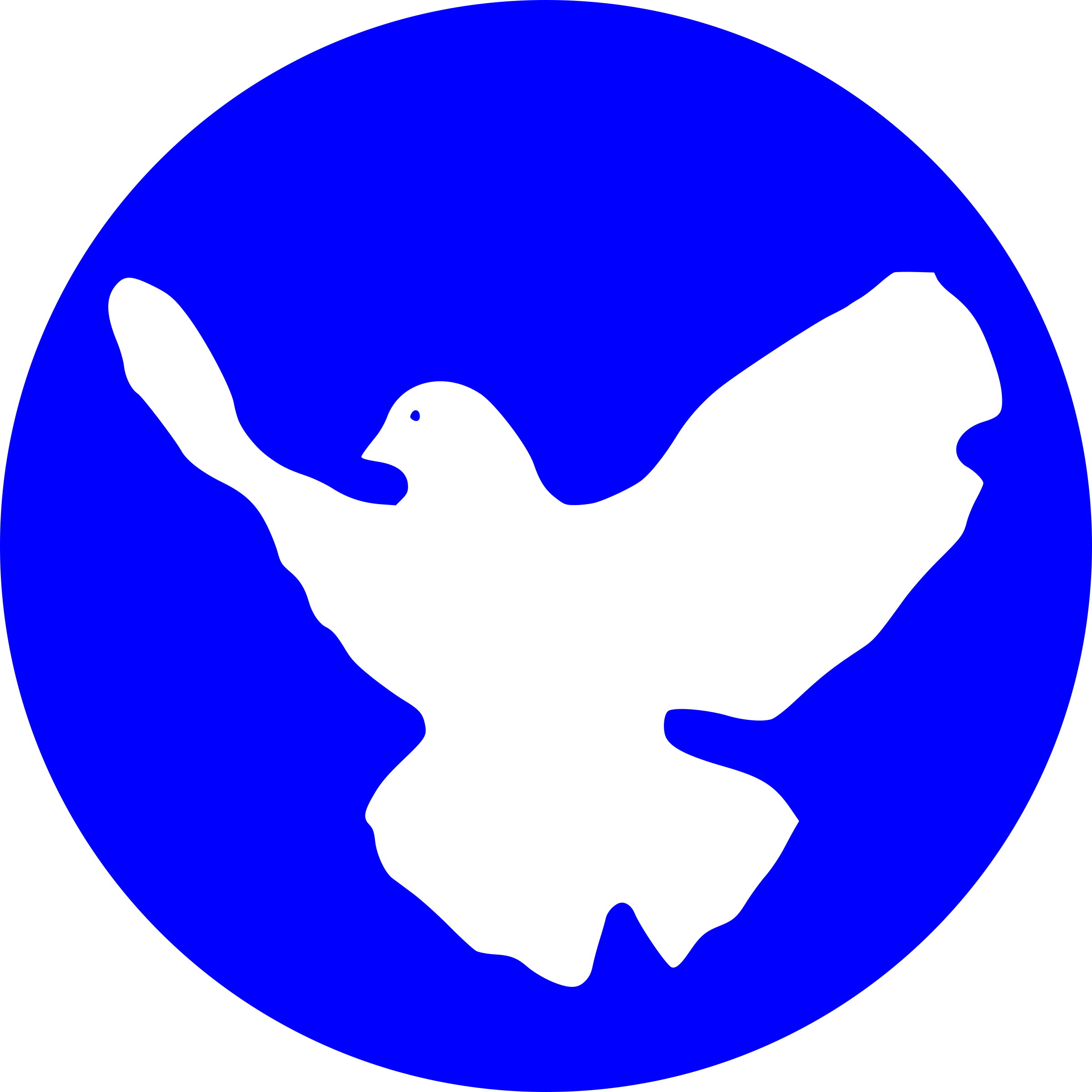 white dove by worker