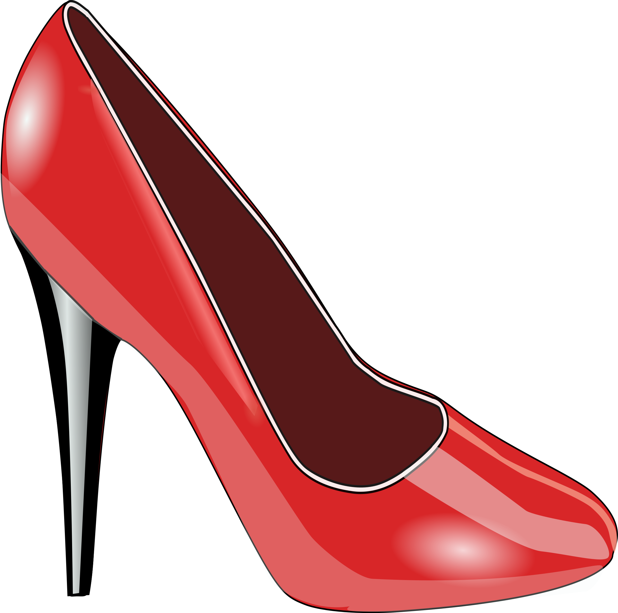 Red Shoe by TheresaKnott