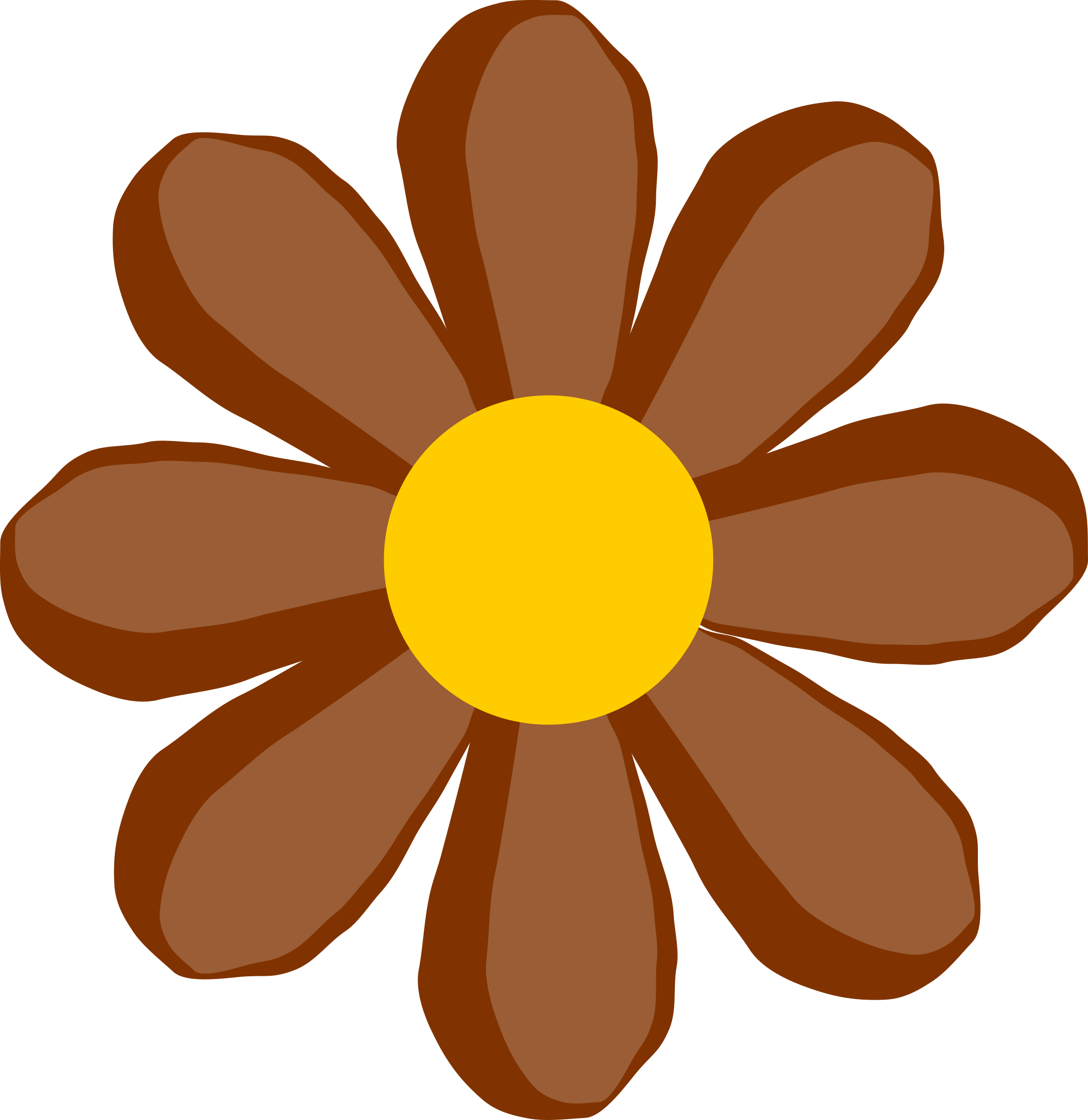 brown flower by Odysseus
