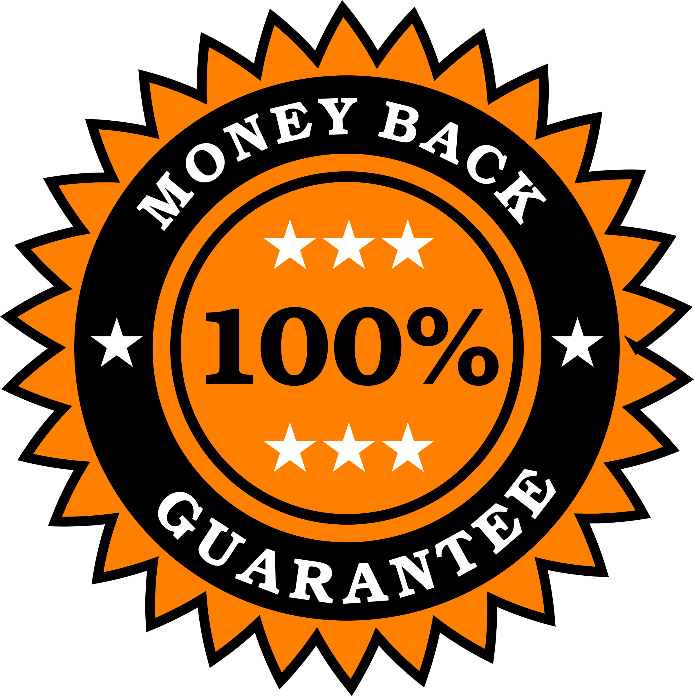 Money Back Guarantee Sticker by vectorportal