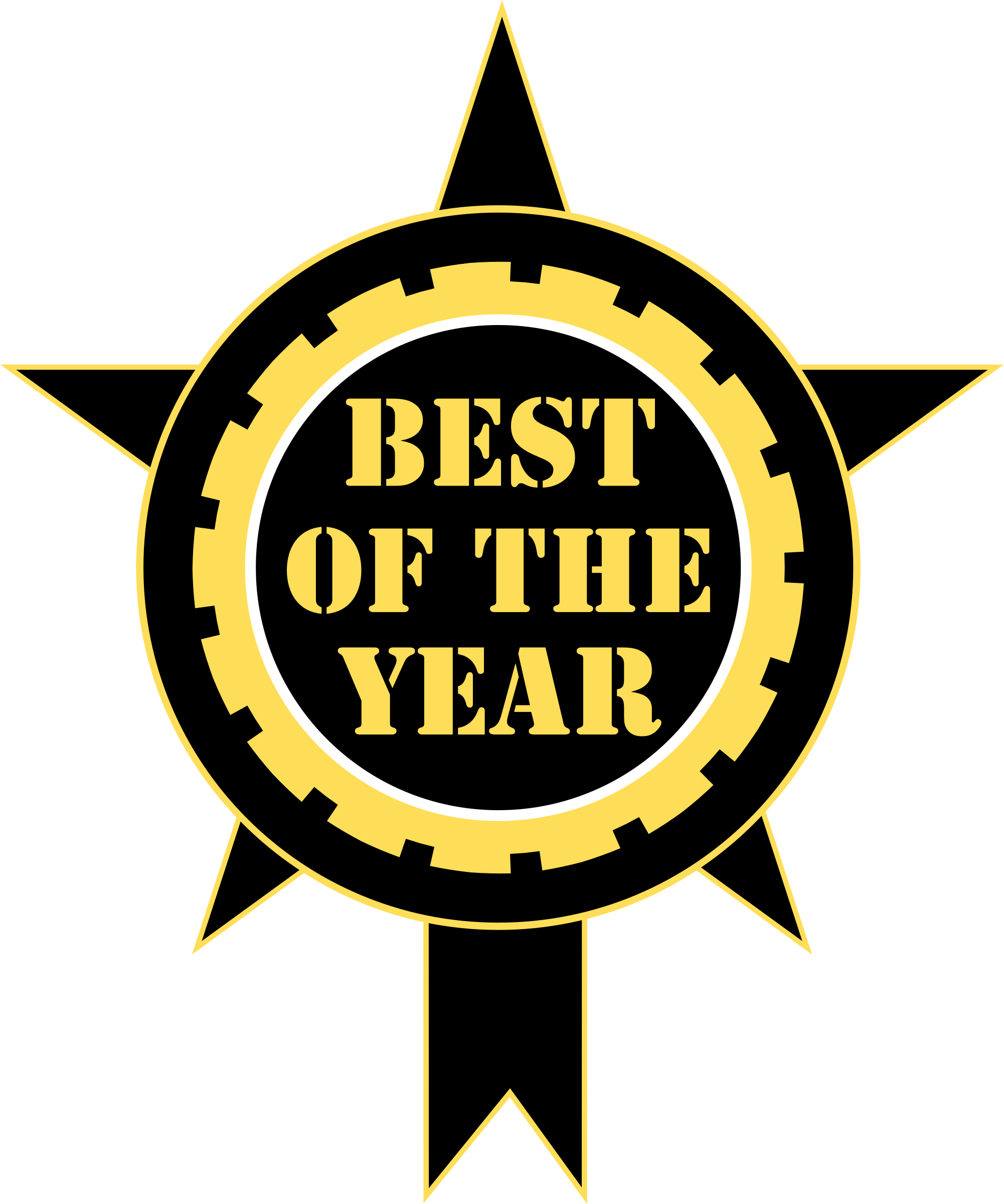 Best Of The Year Sticker by vectorportal