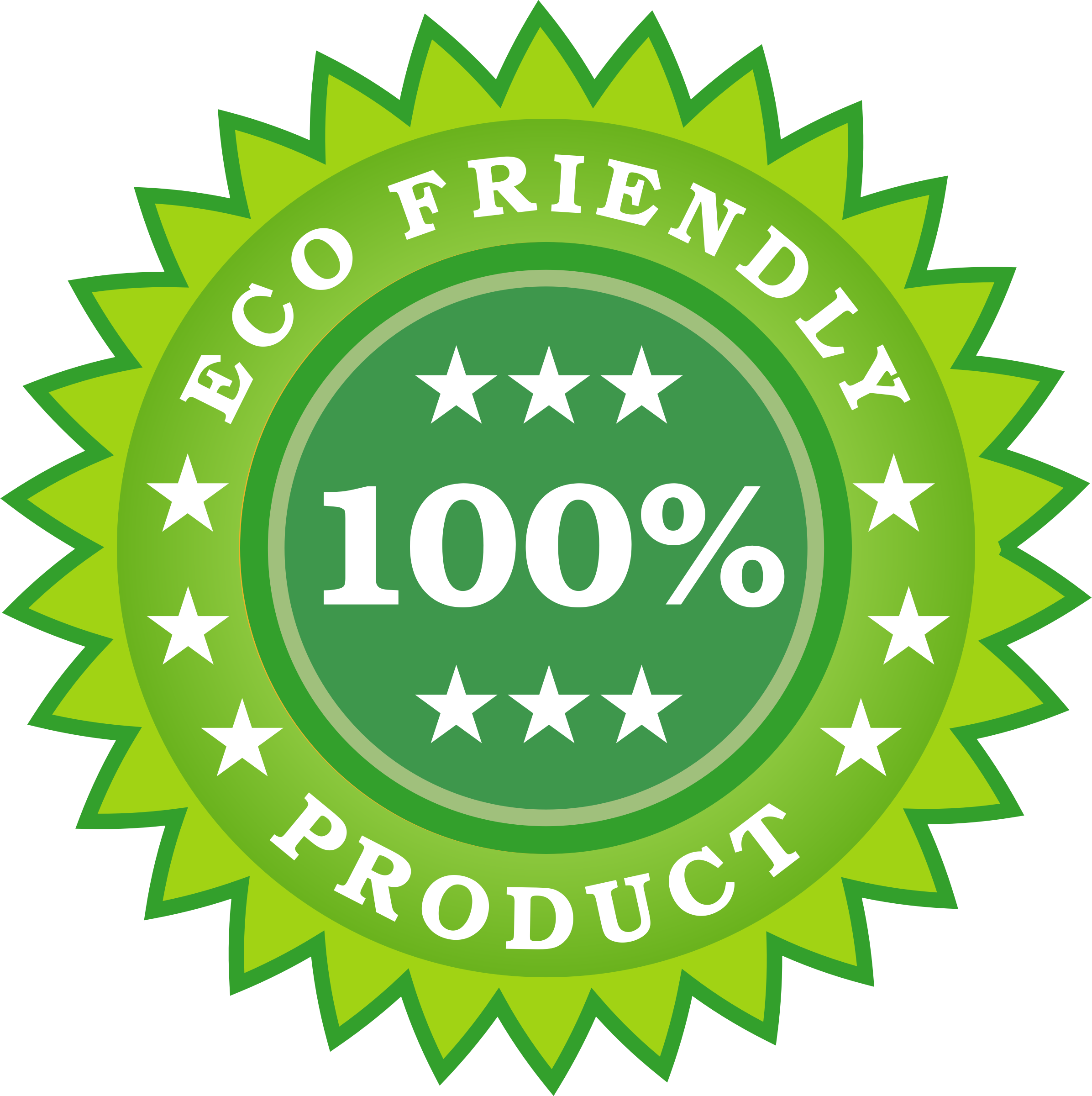 Eco Friendly Product Sticker by vectorportal
