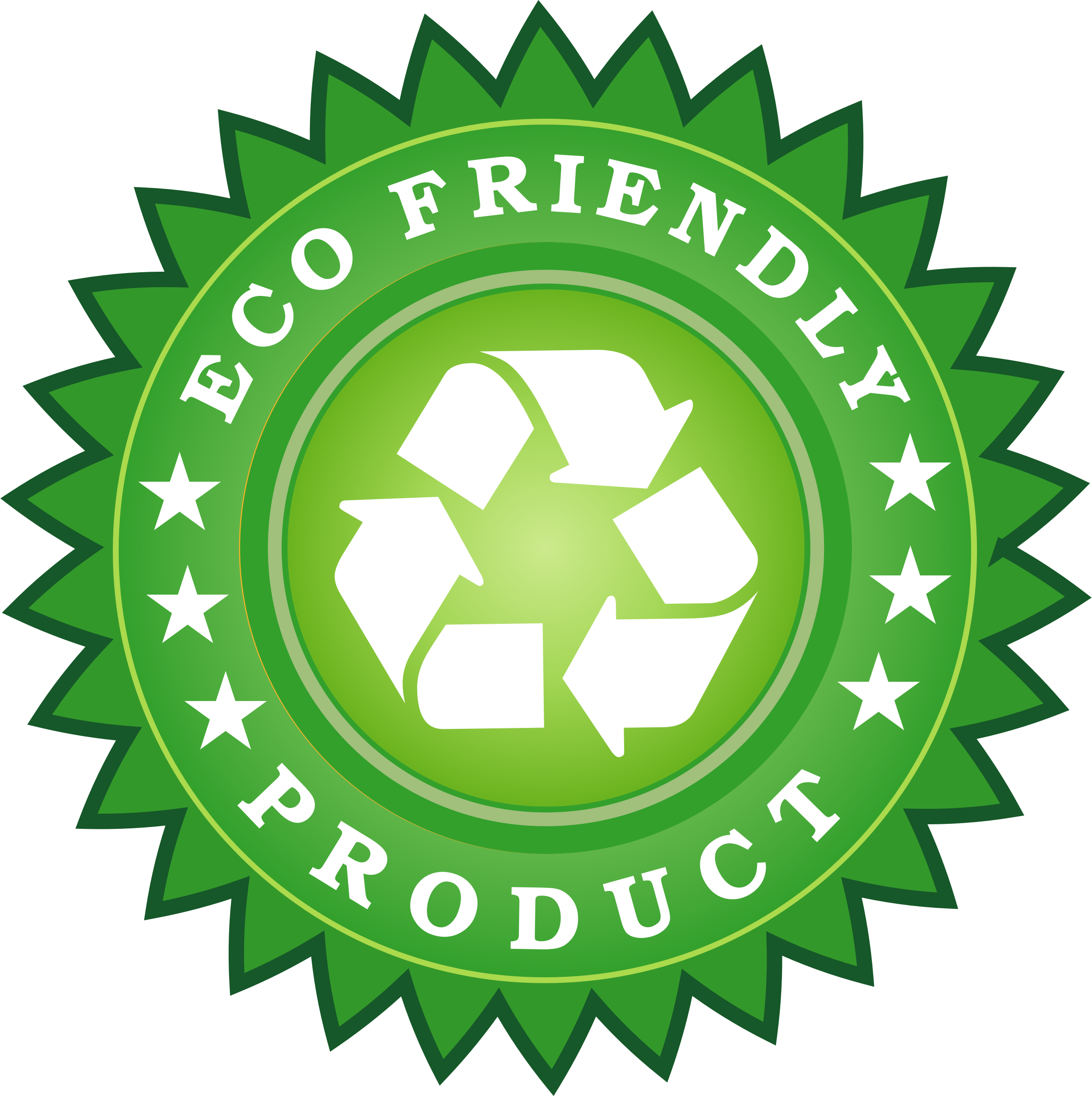 Ecology Friendly Product Sticker by vectorportal