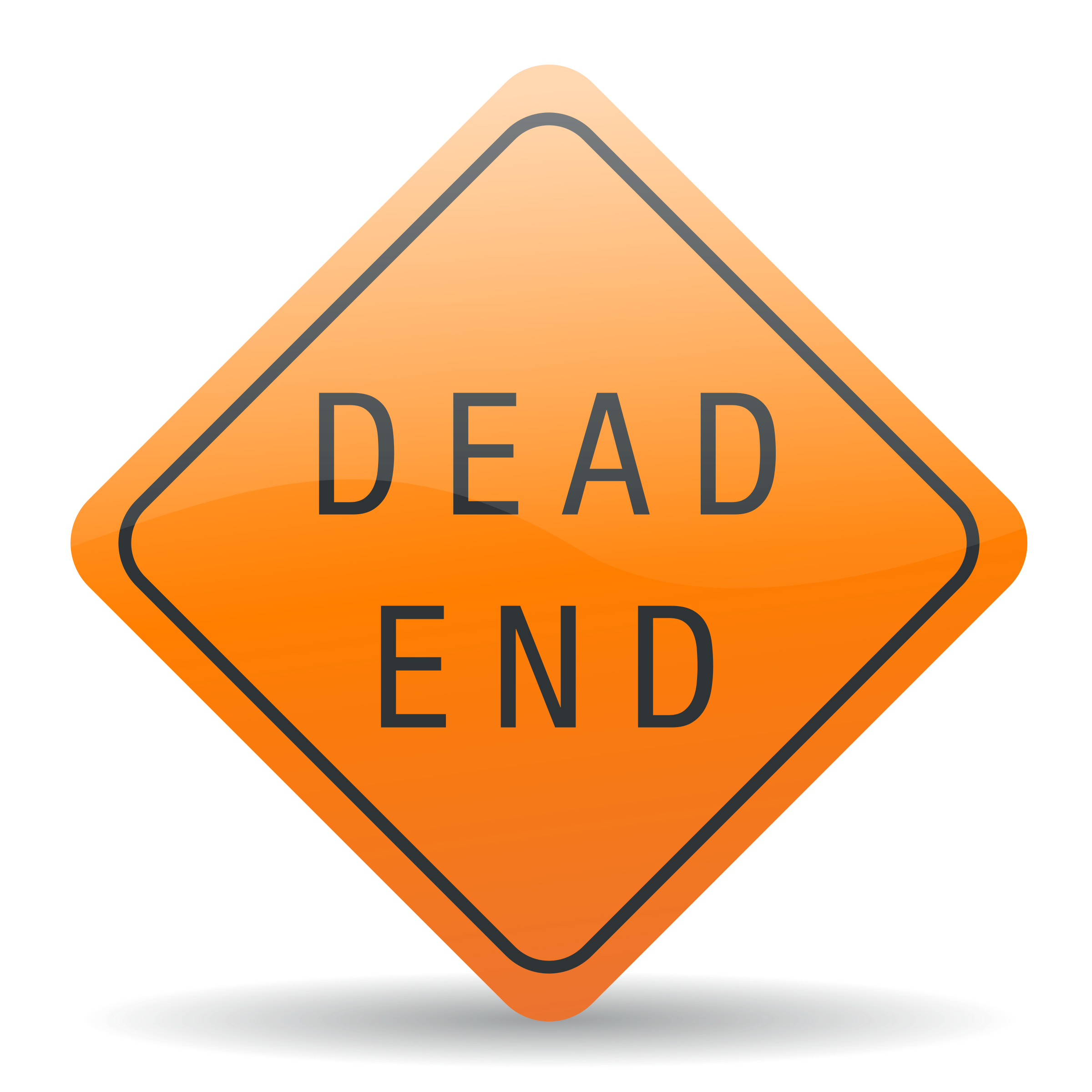Dead end sign by jhnri4