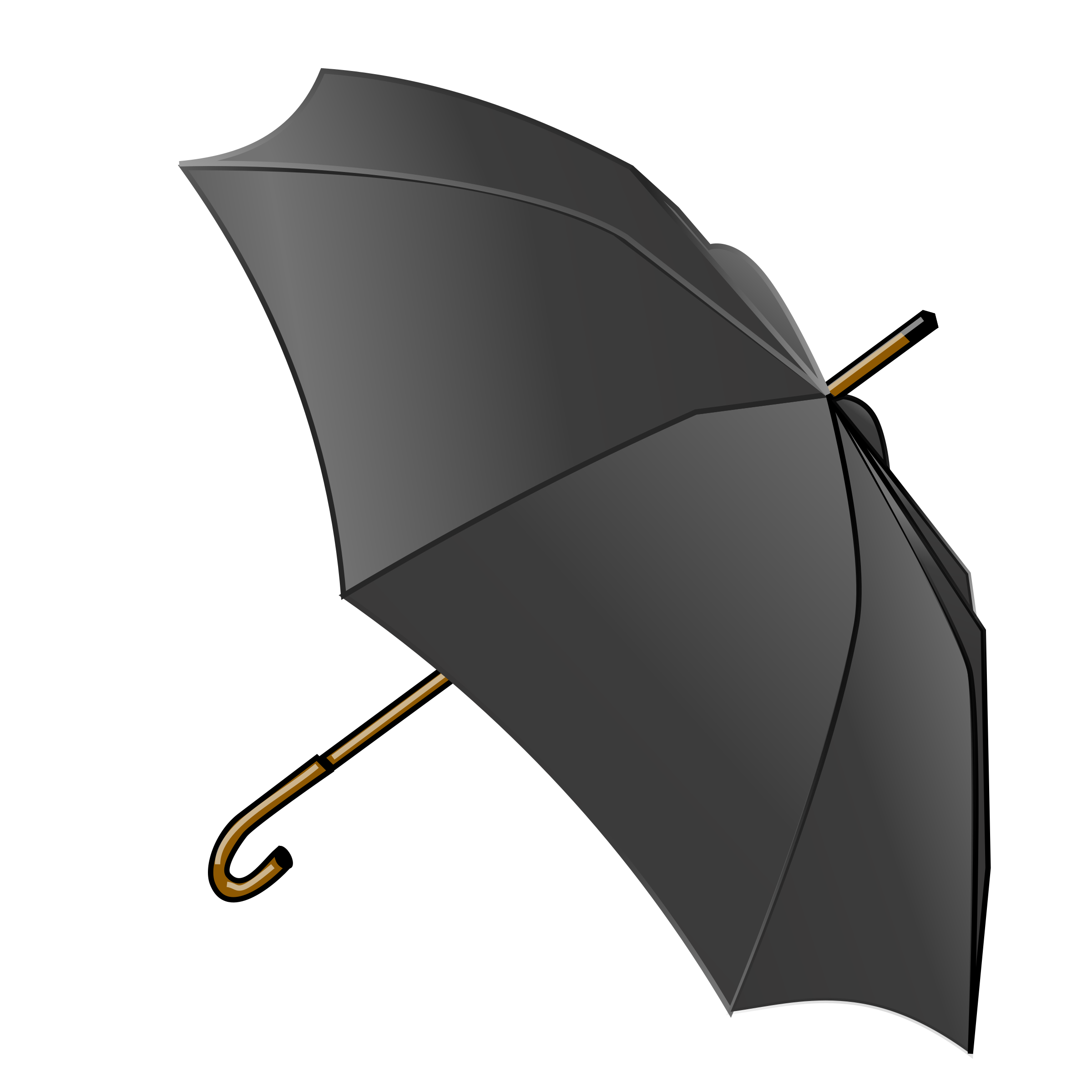 Black Umbrella by LX