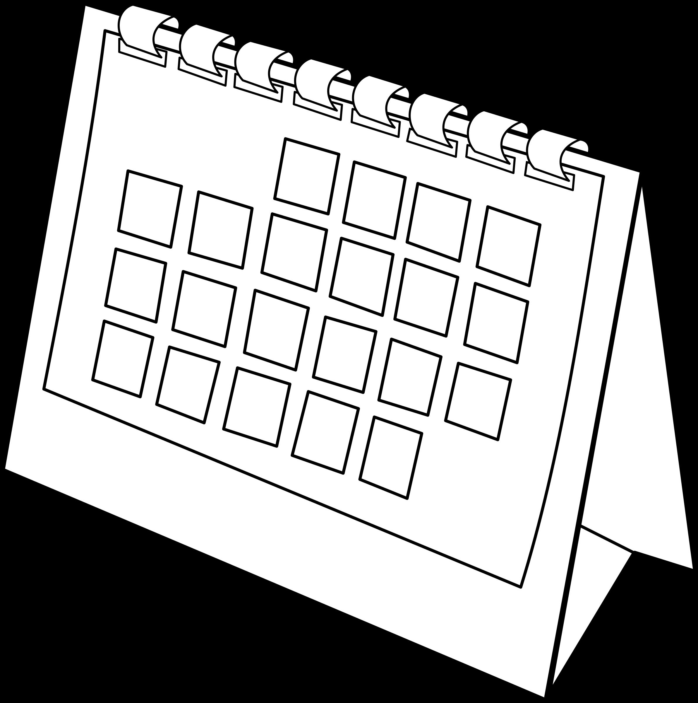 calendrier / calendar by lmproulx