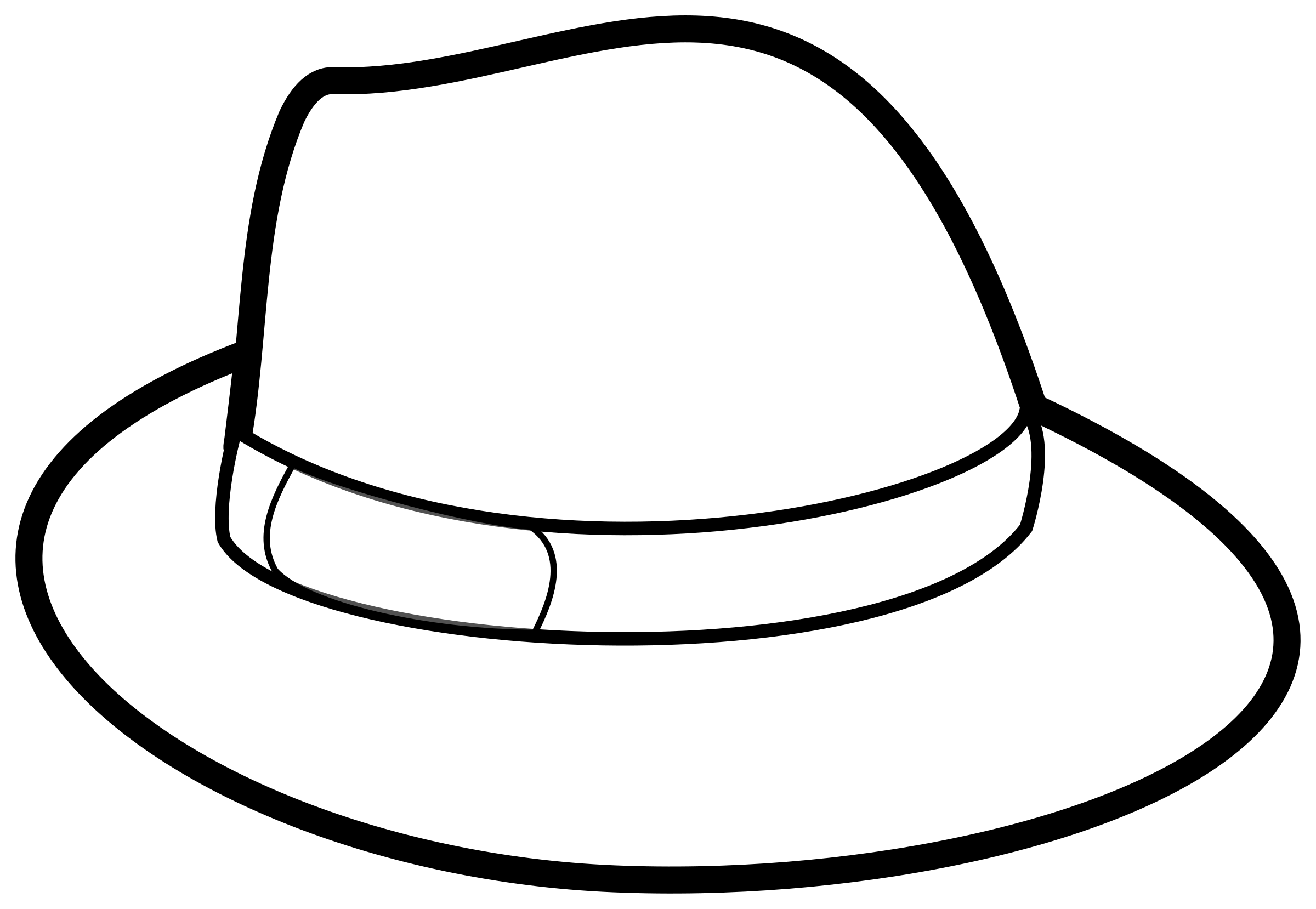 Hat Outline by rygle