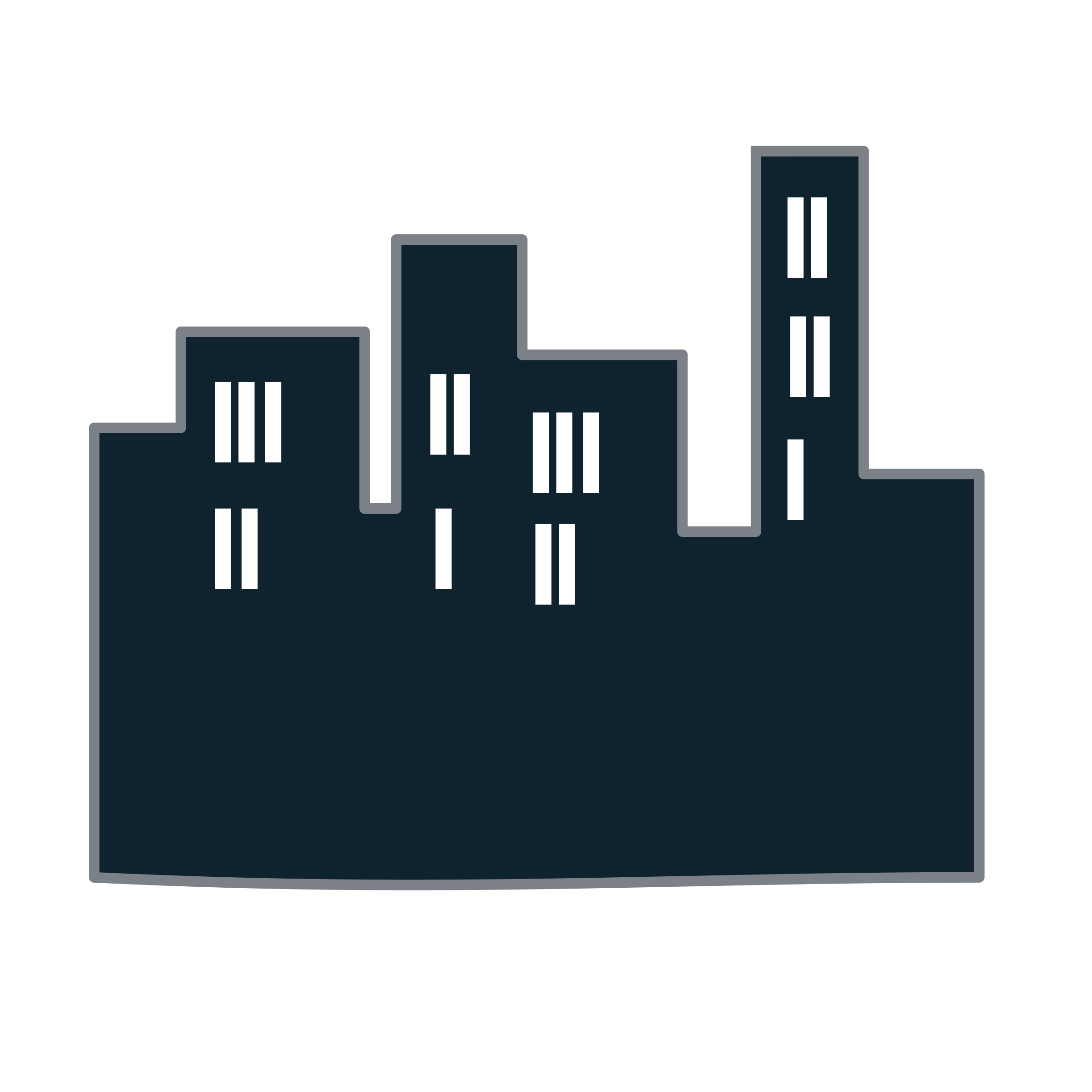 Buildings icon by netalloy
