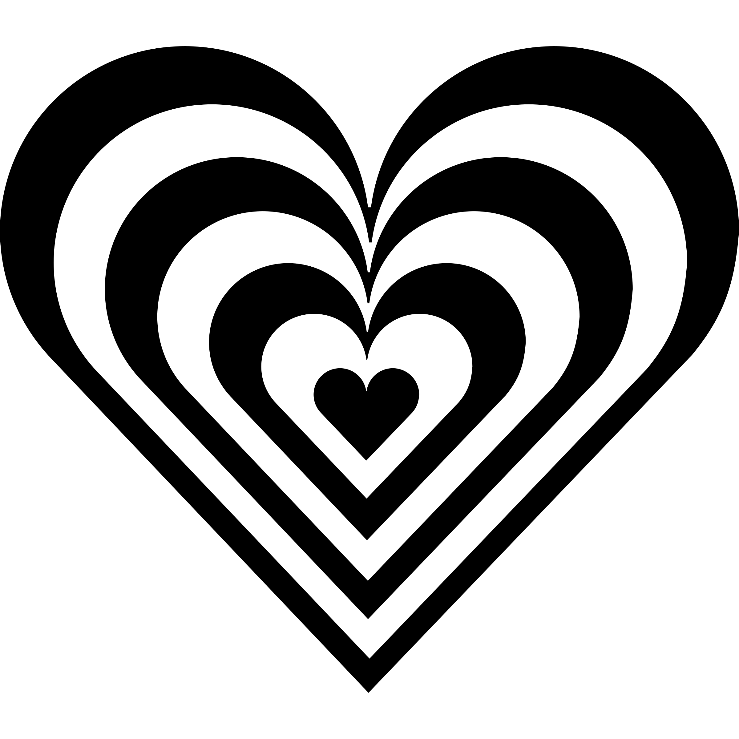 zebra heart by 10binary