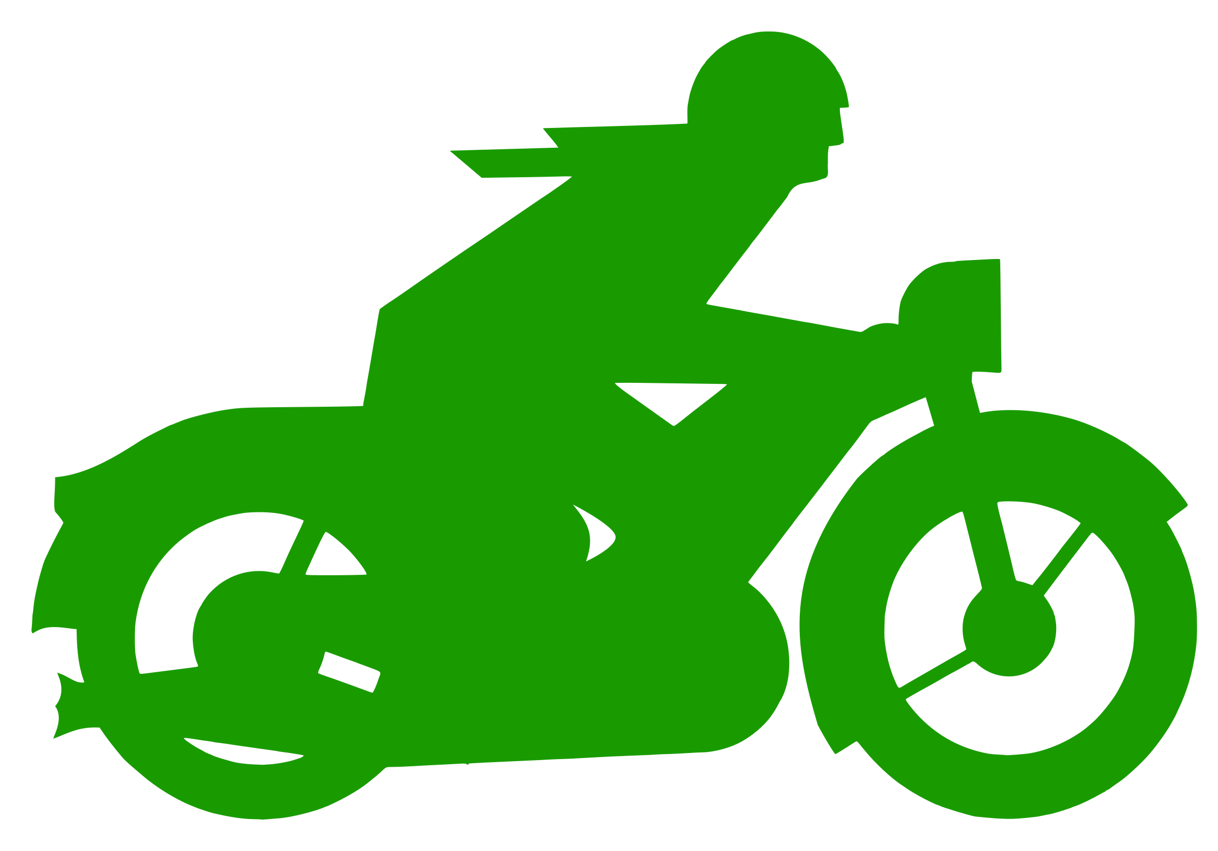 green motorbiker by forestgreen