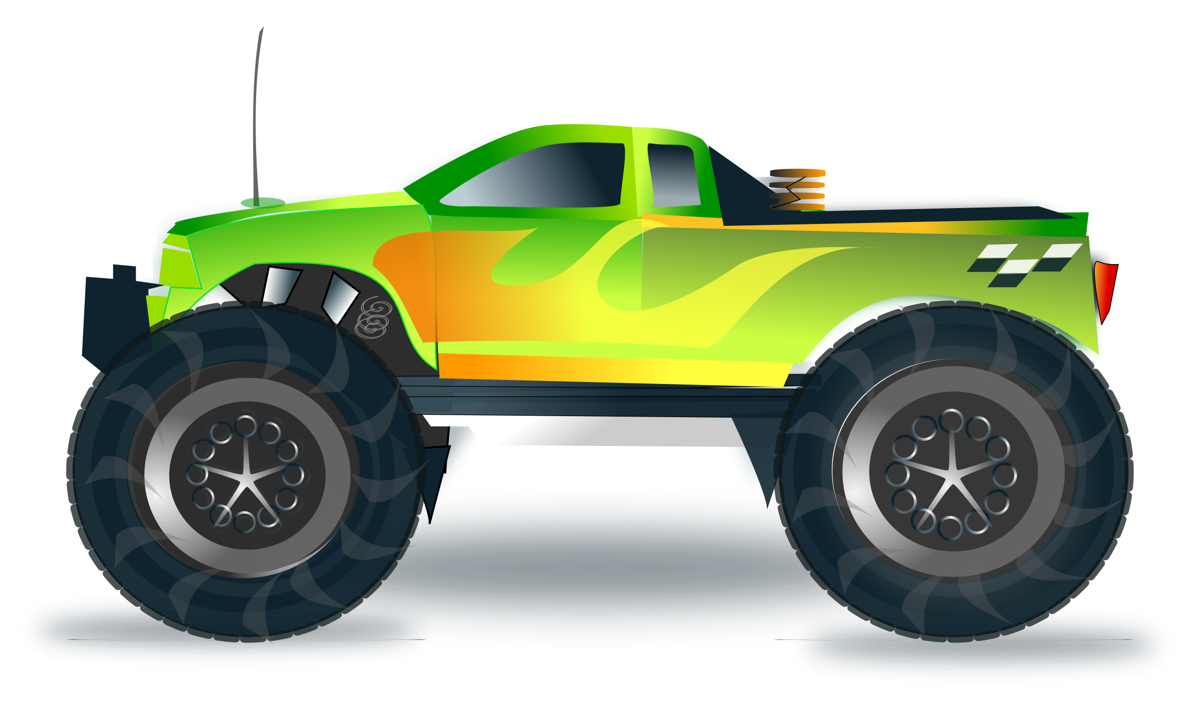 monster truck by netalloy