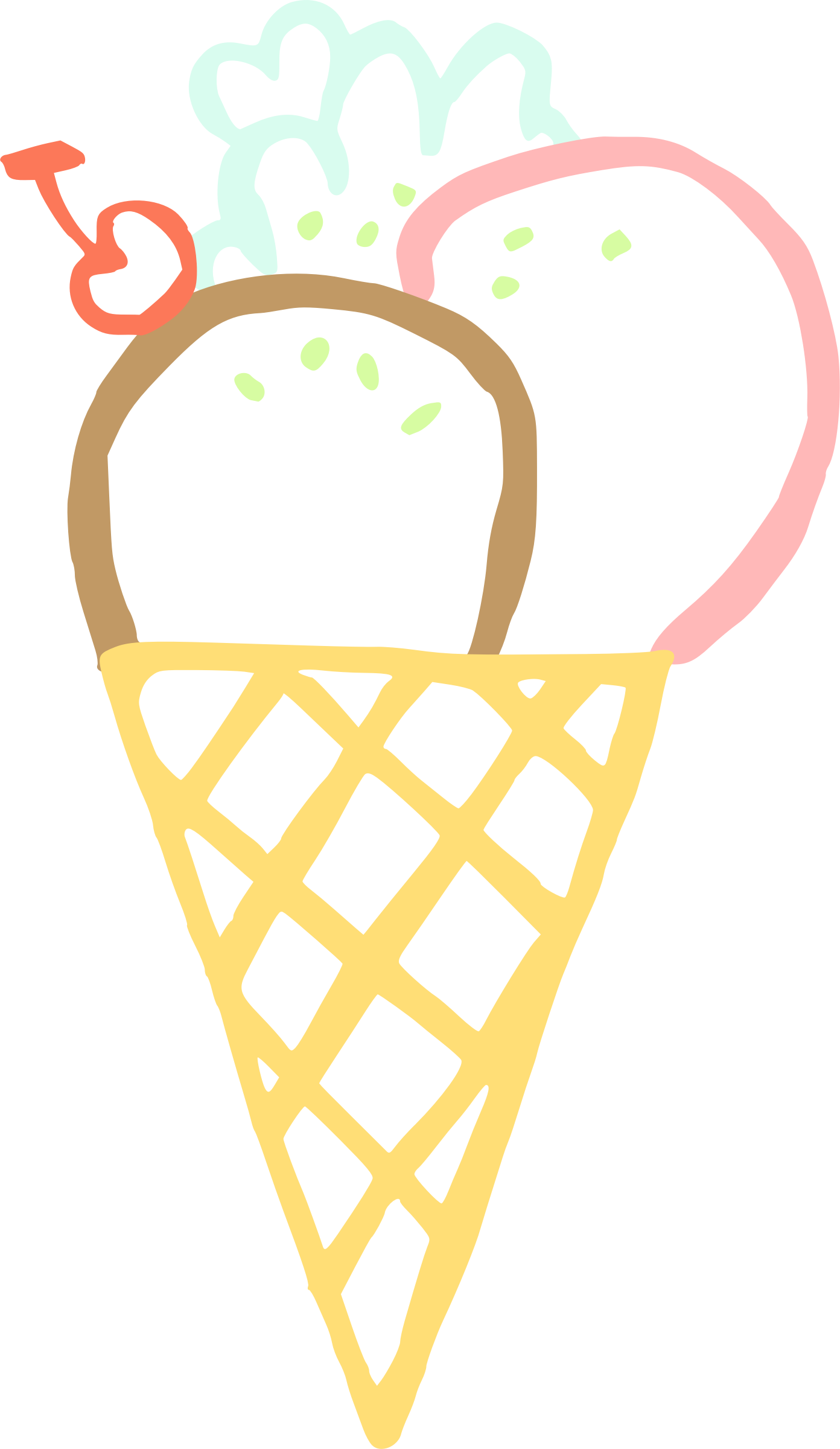 ice cream cone linda kim 01 by rejon