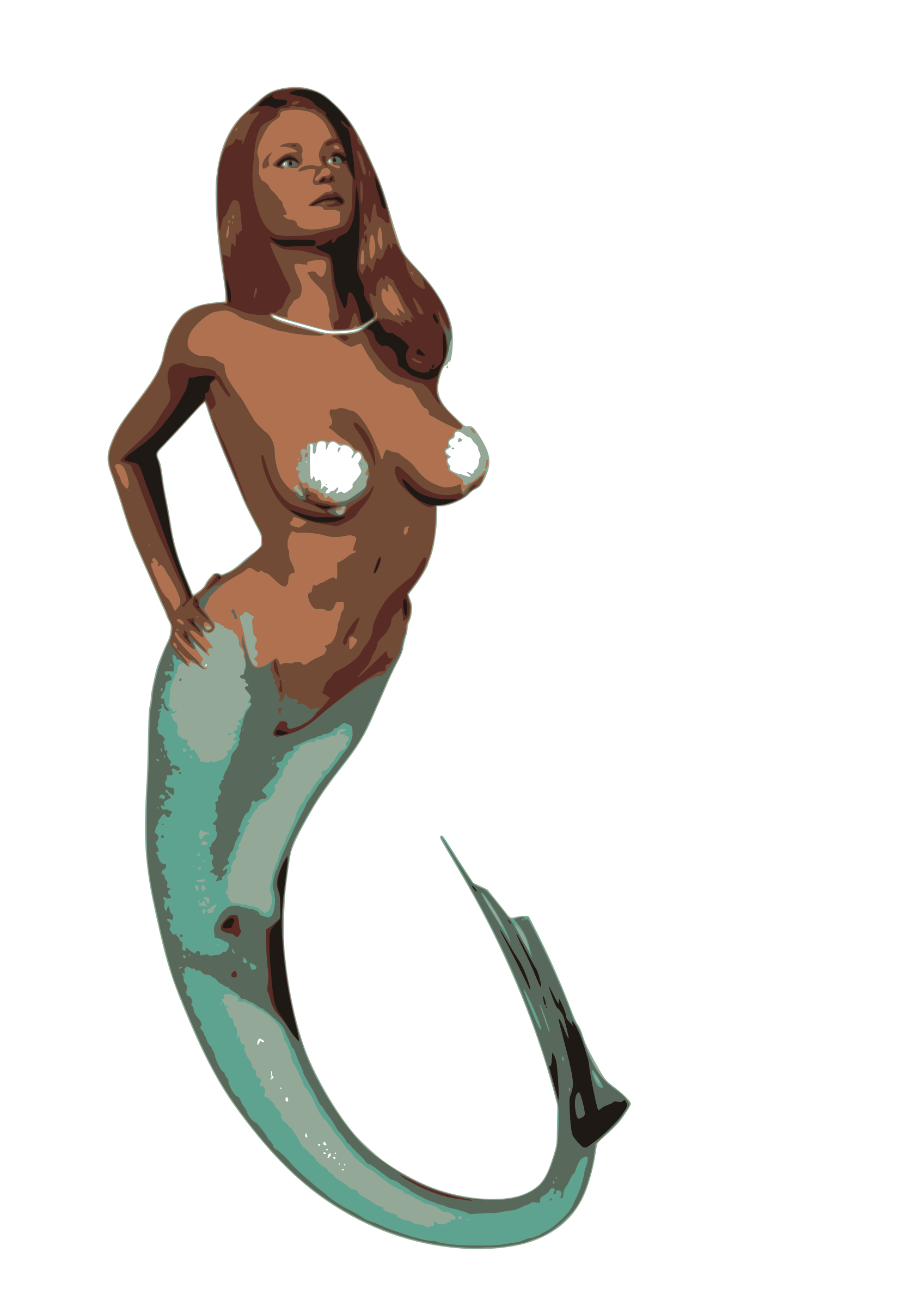 mermaid kurt cagle  by Anonymous