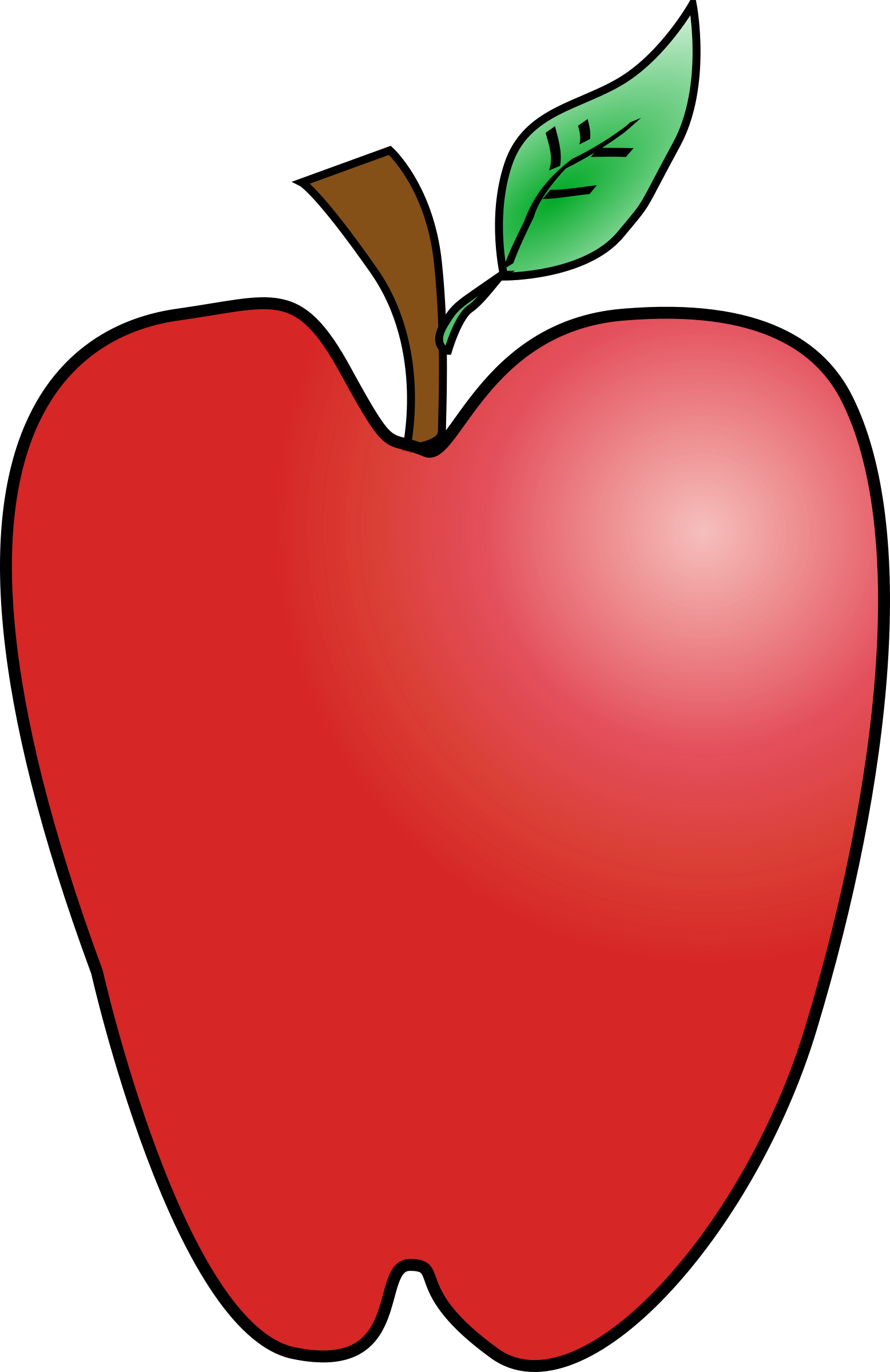 cartoon apple k yager 03r by Anonymous