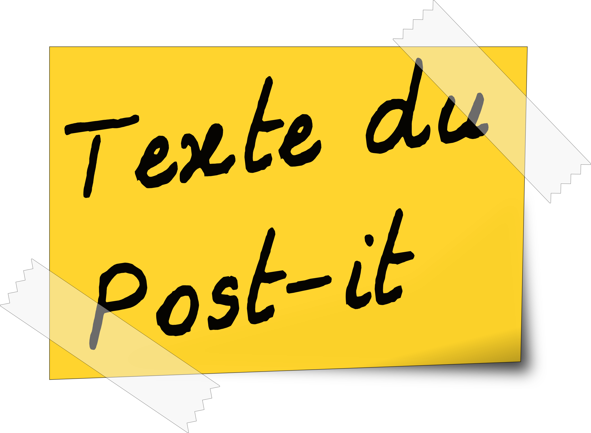 post-it by yves_guillou
