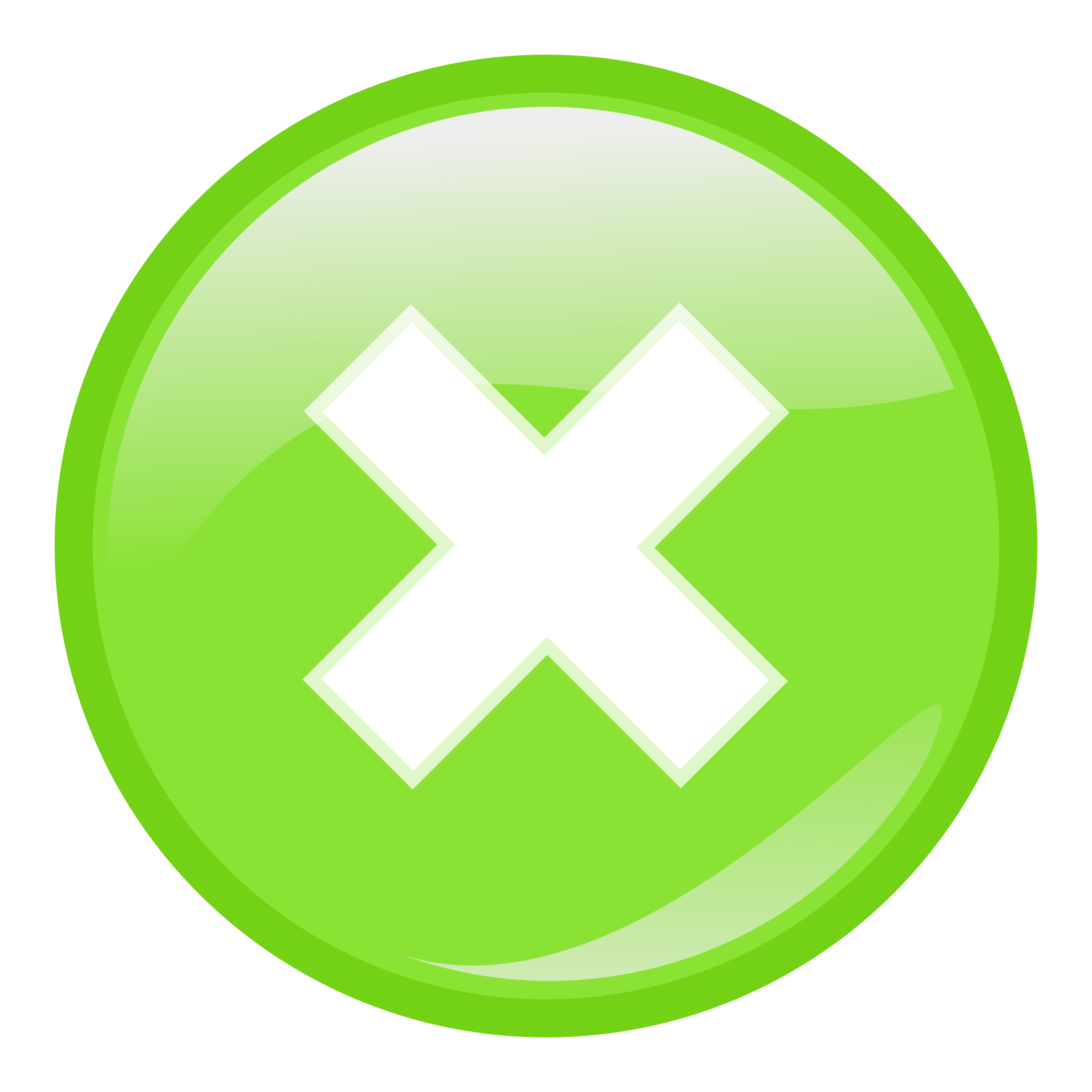 green round submit icon by molumen