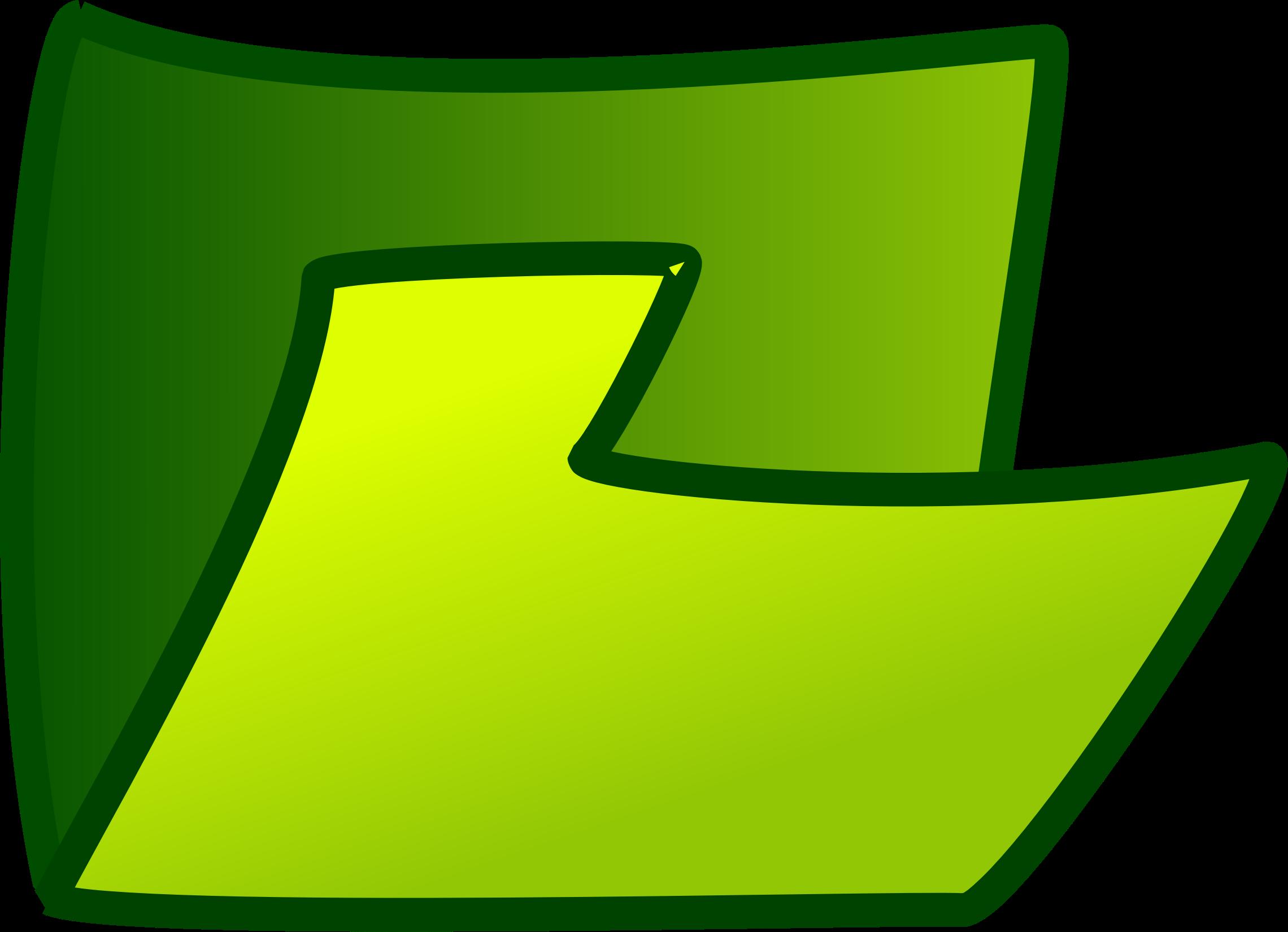 Файл зеленым цветом