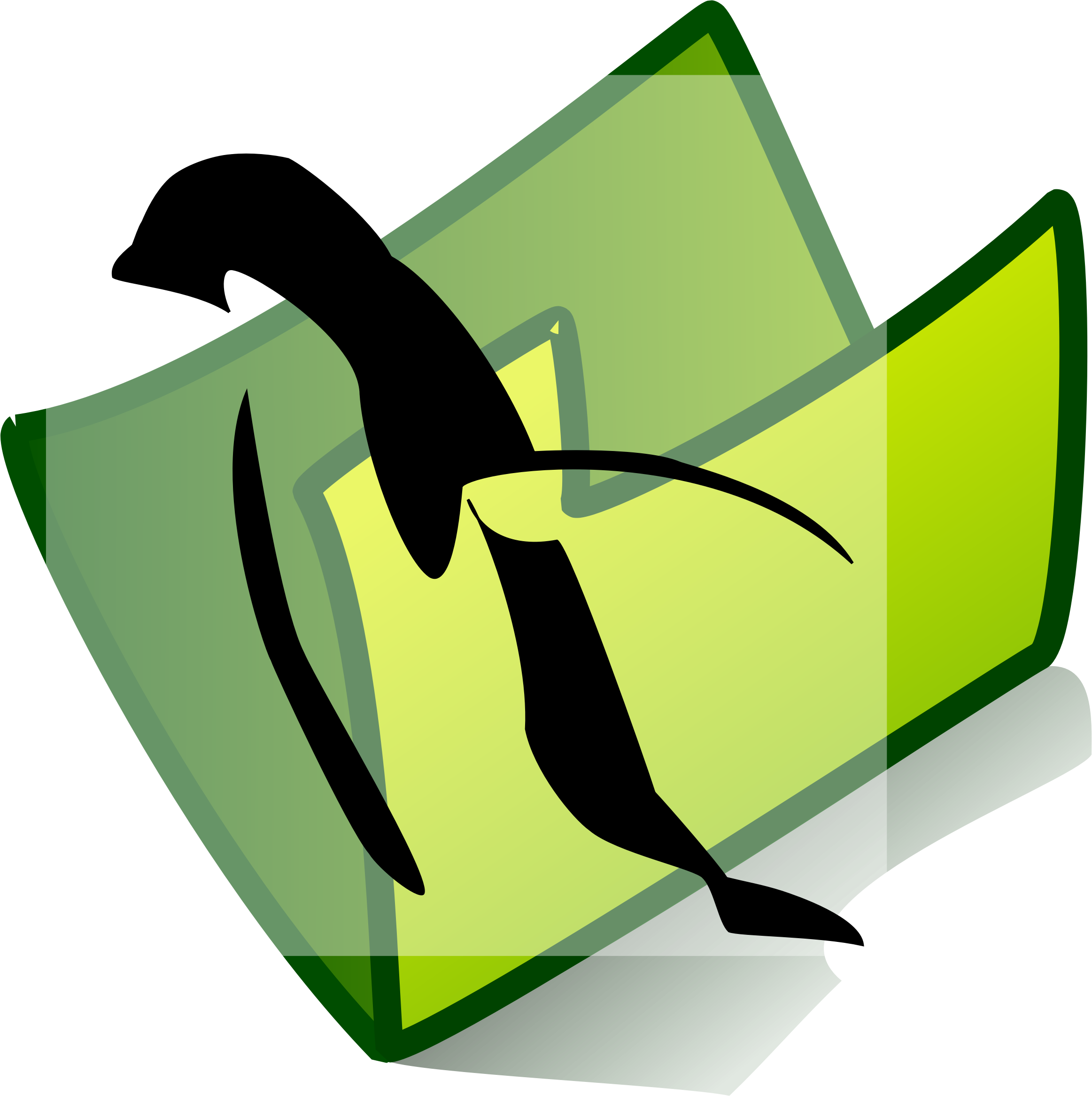 folder penguin by Anonymous