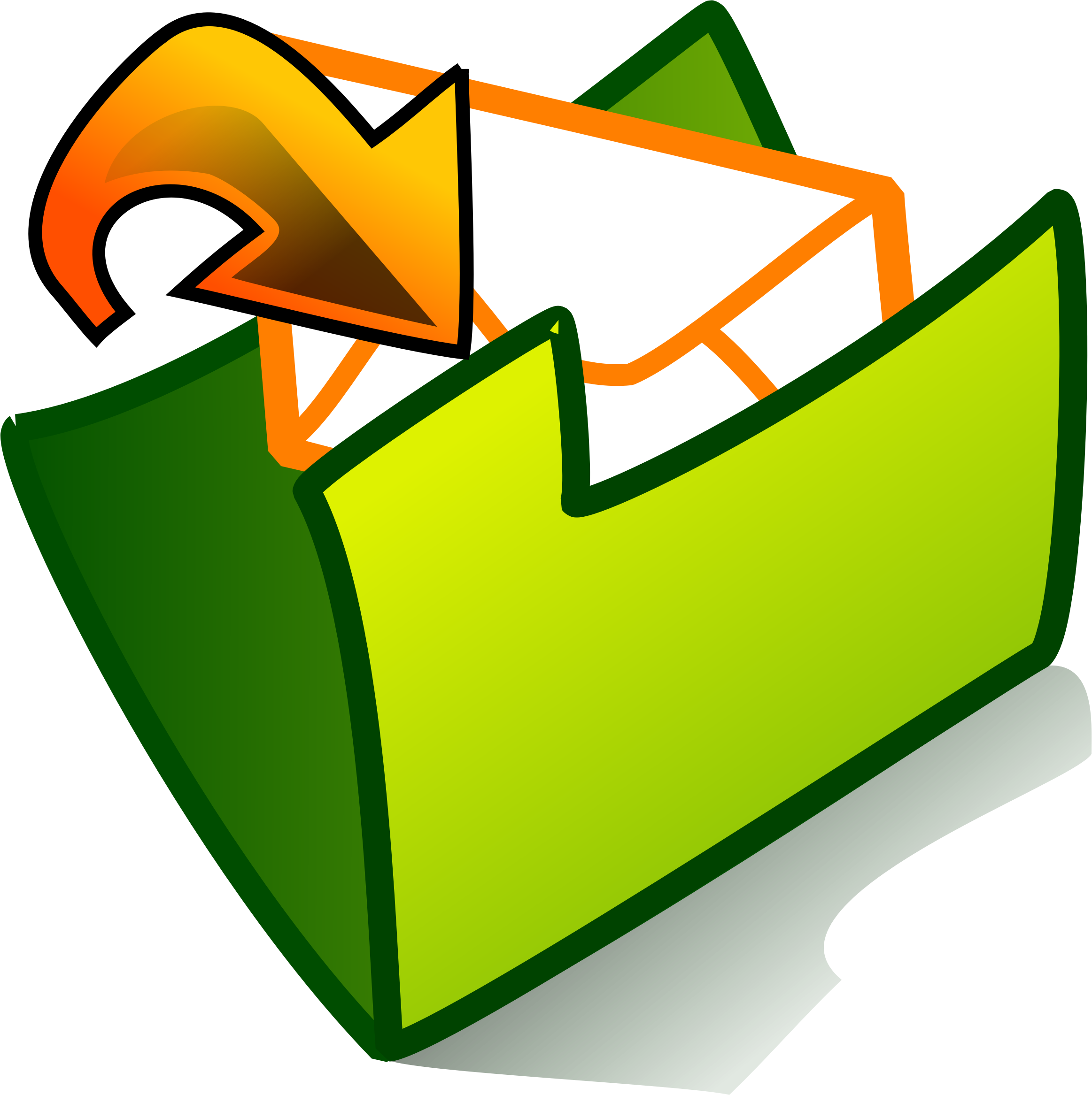 folder inbox by Anonymous