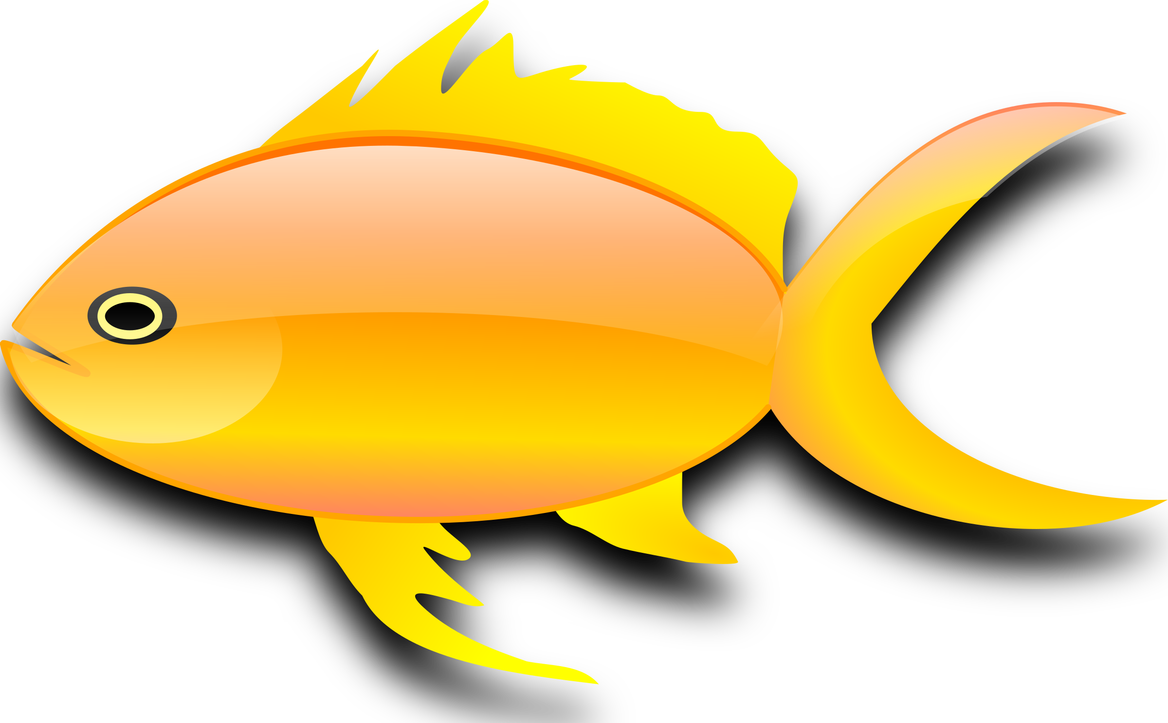 Pez dorado (gold fish) by pepinux