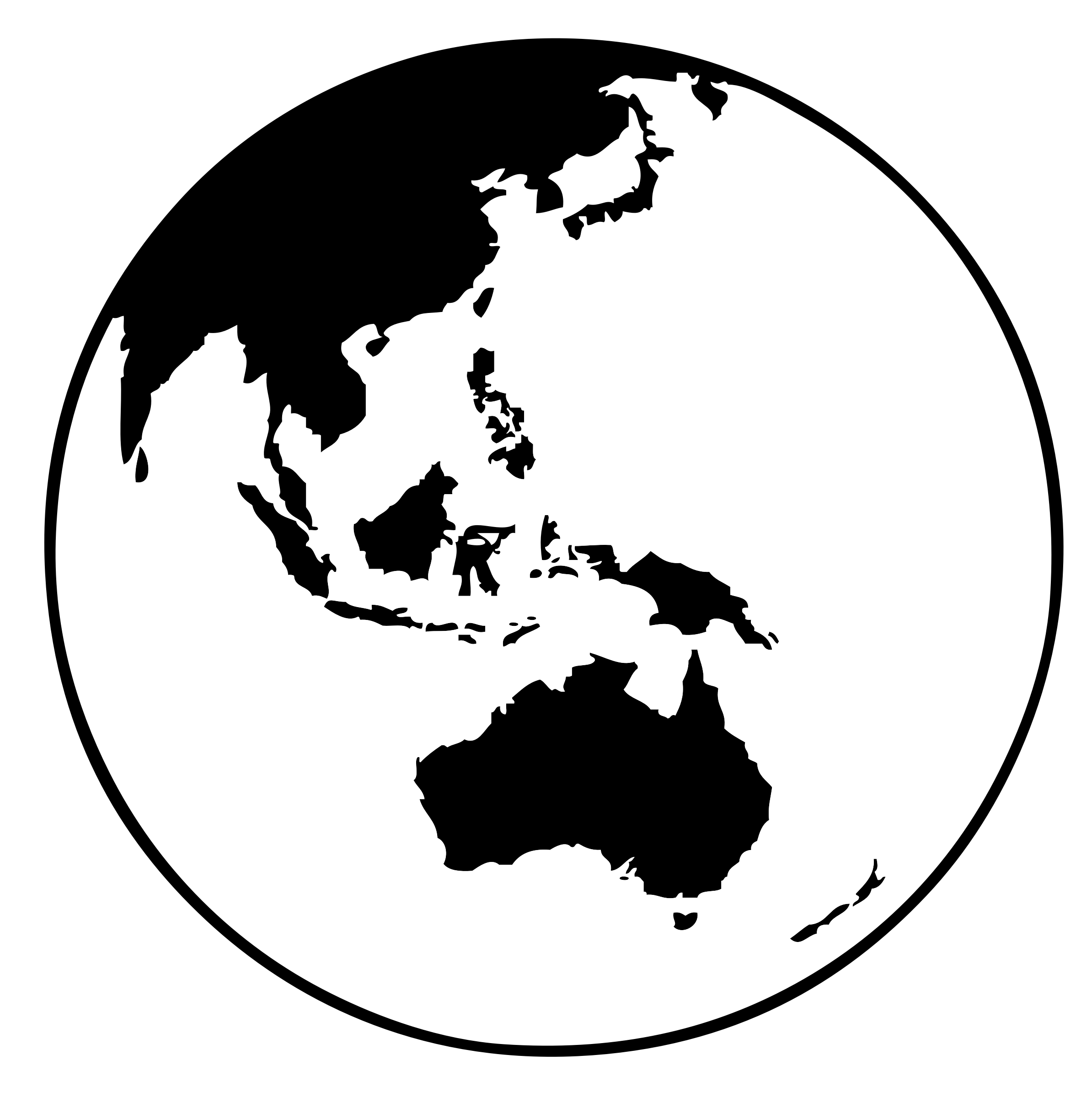 earth globe (oceania) by Lynx