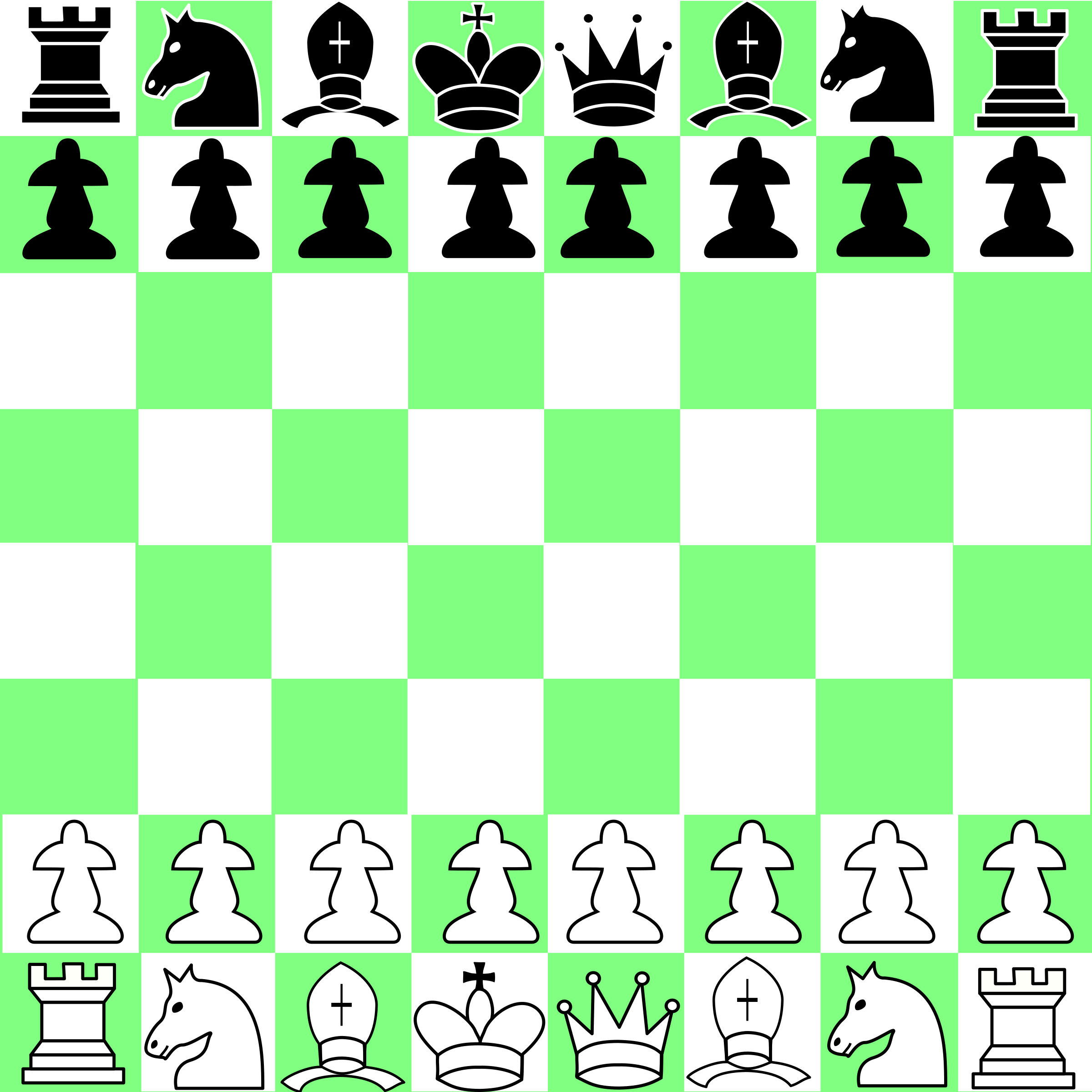 yet another chess game 01 by Anonymous
