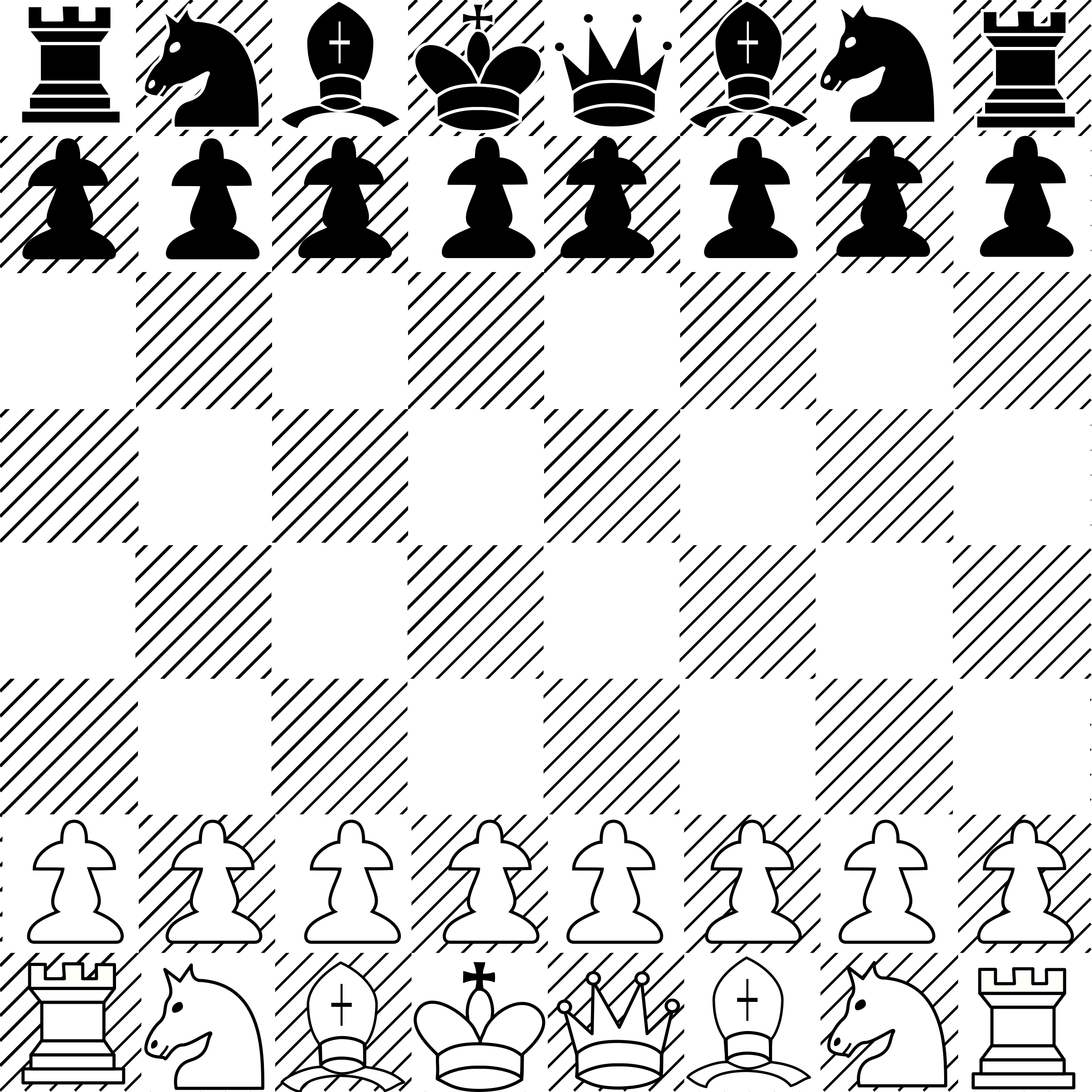 chess game 01 by Anonymous