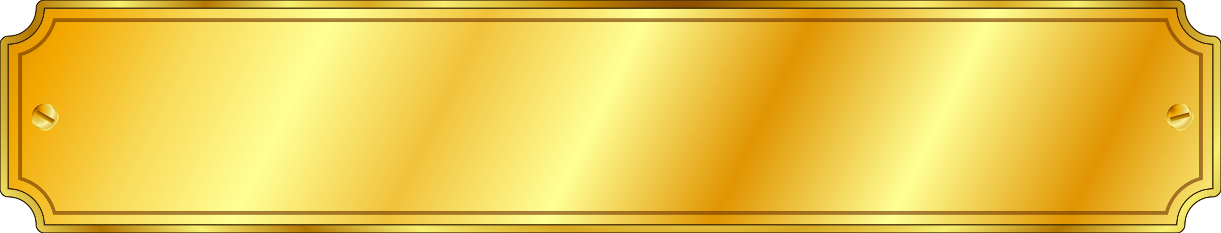 Gold Metal Sign (extended) by jhnri4