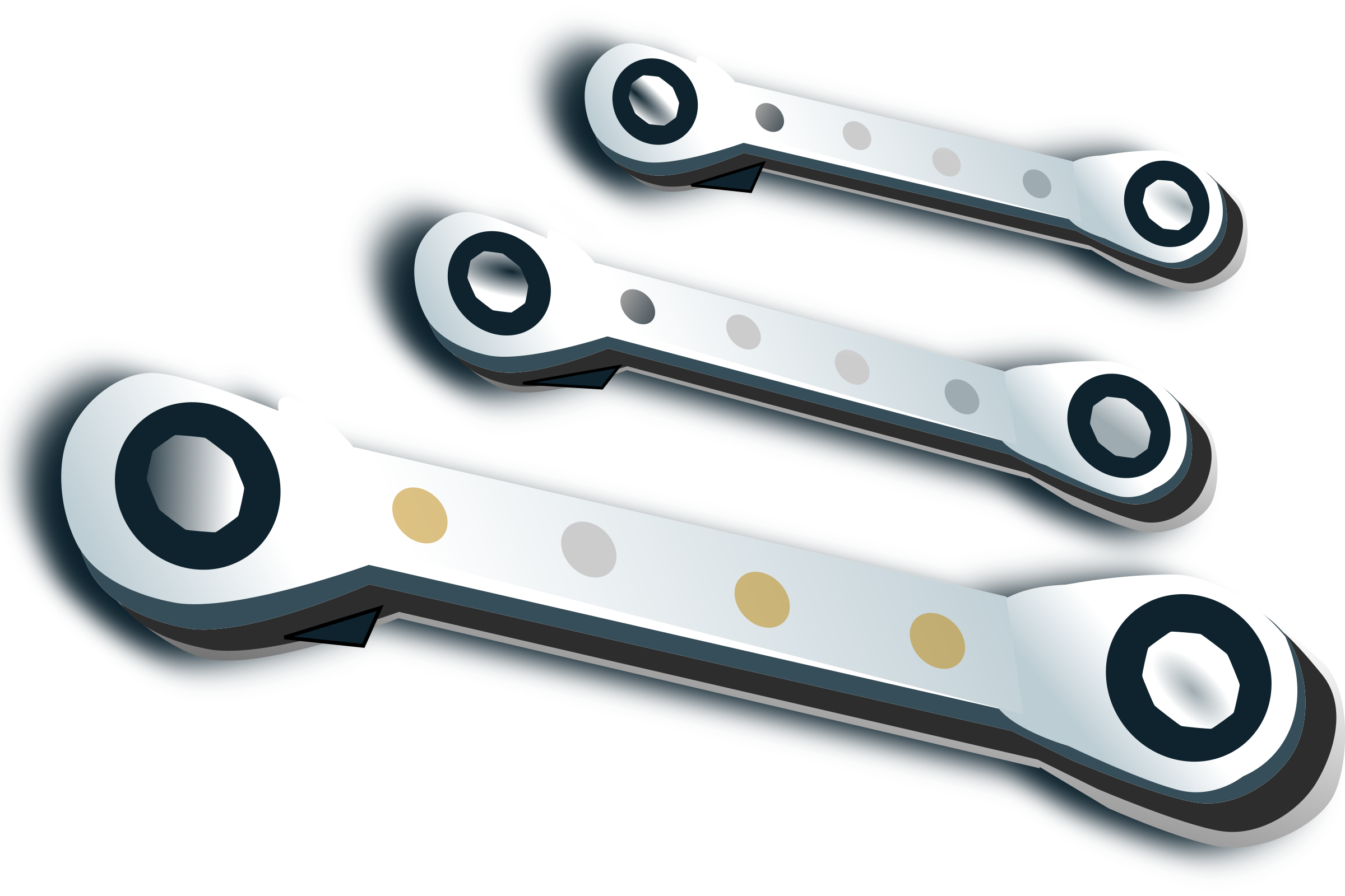 ratchet spanner set by netalloy