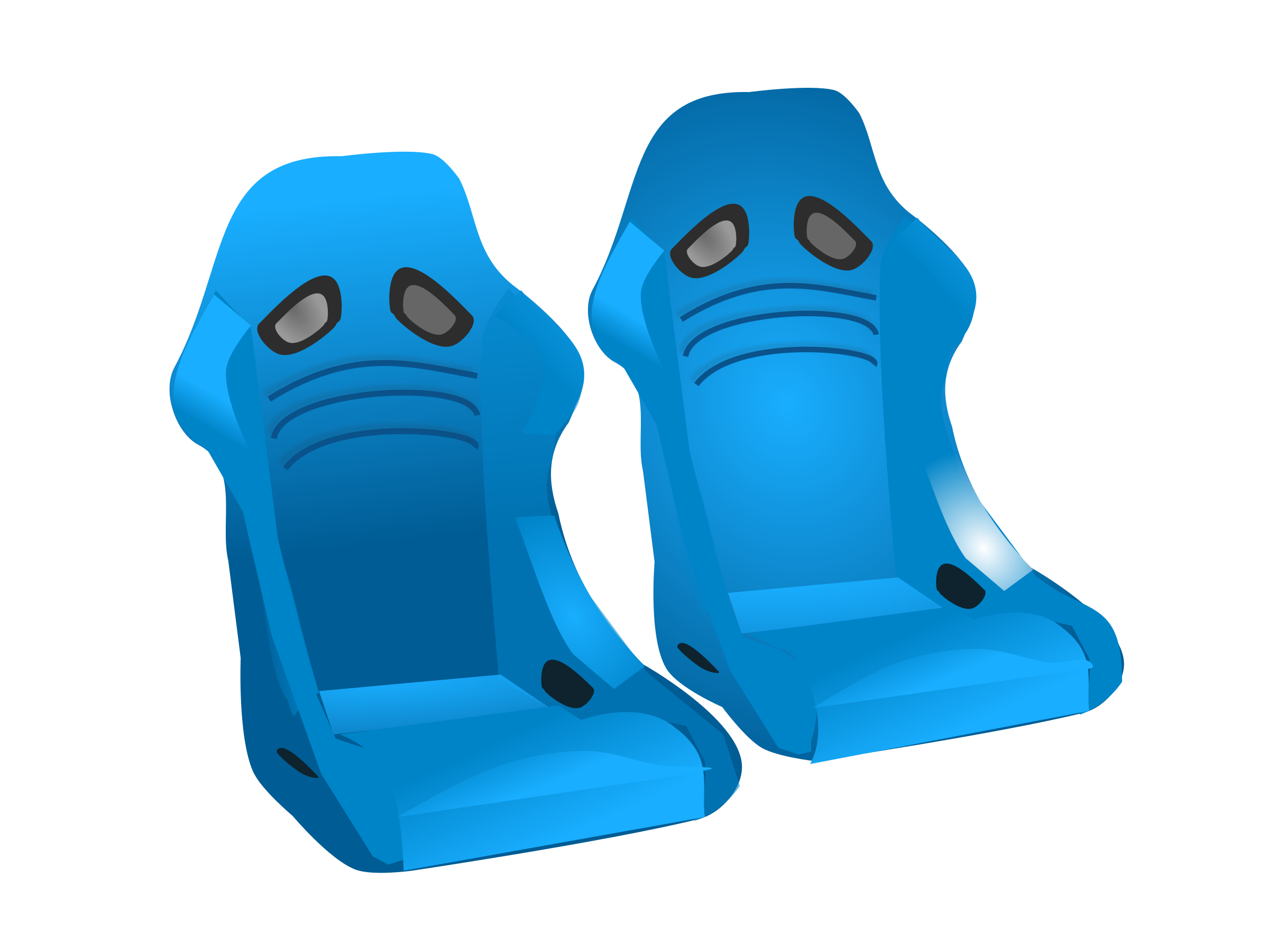 racing seats by netalloy