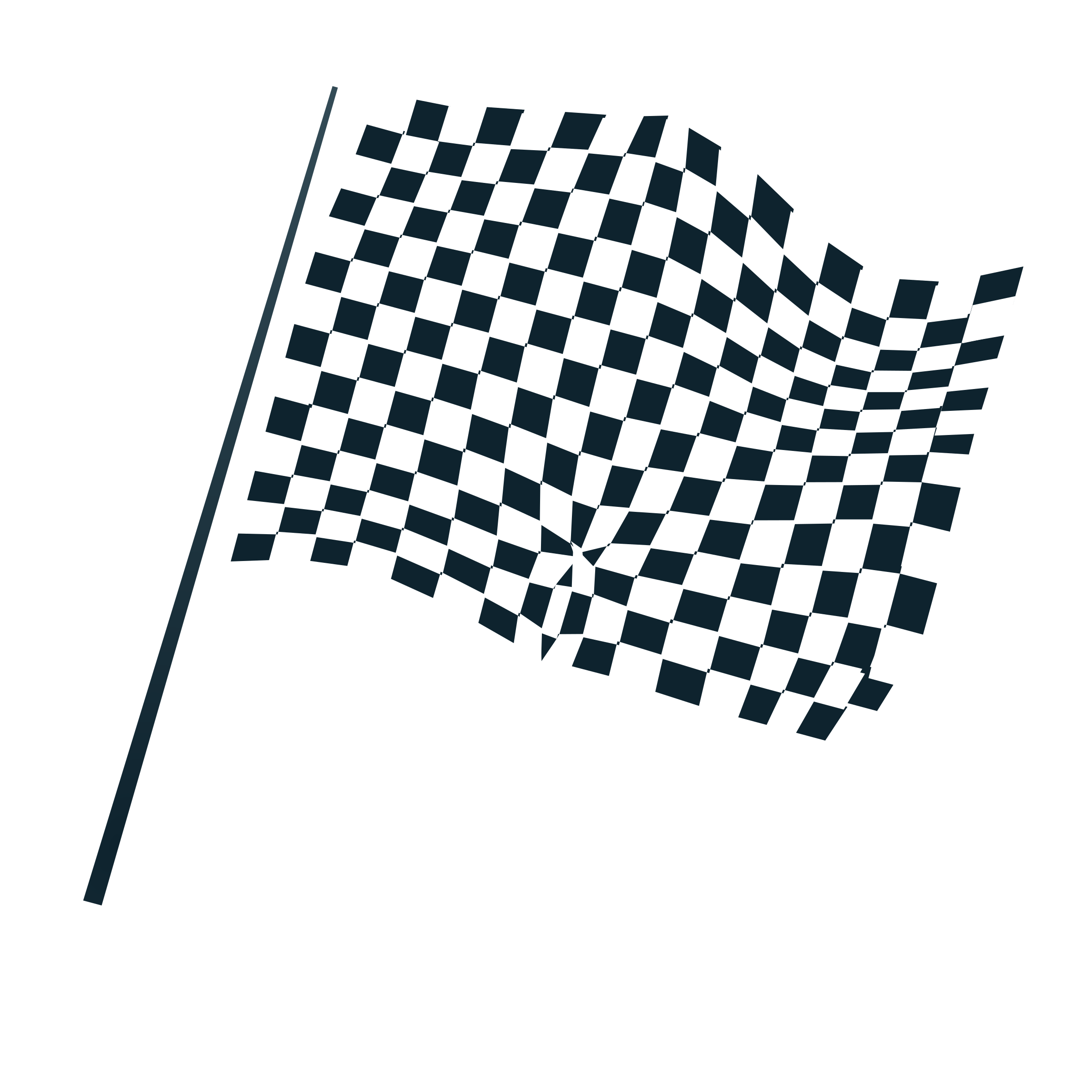 chequered flag icon by netalloy