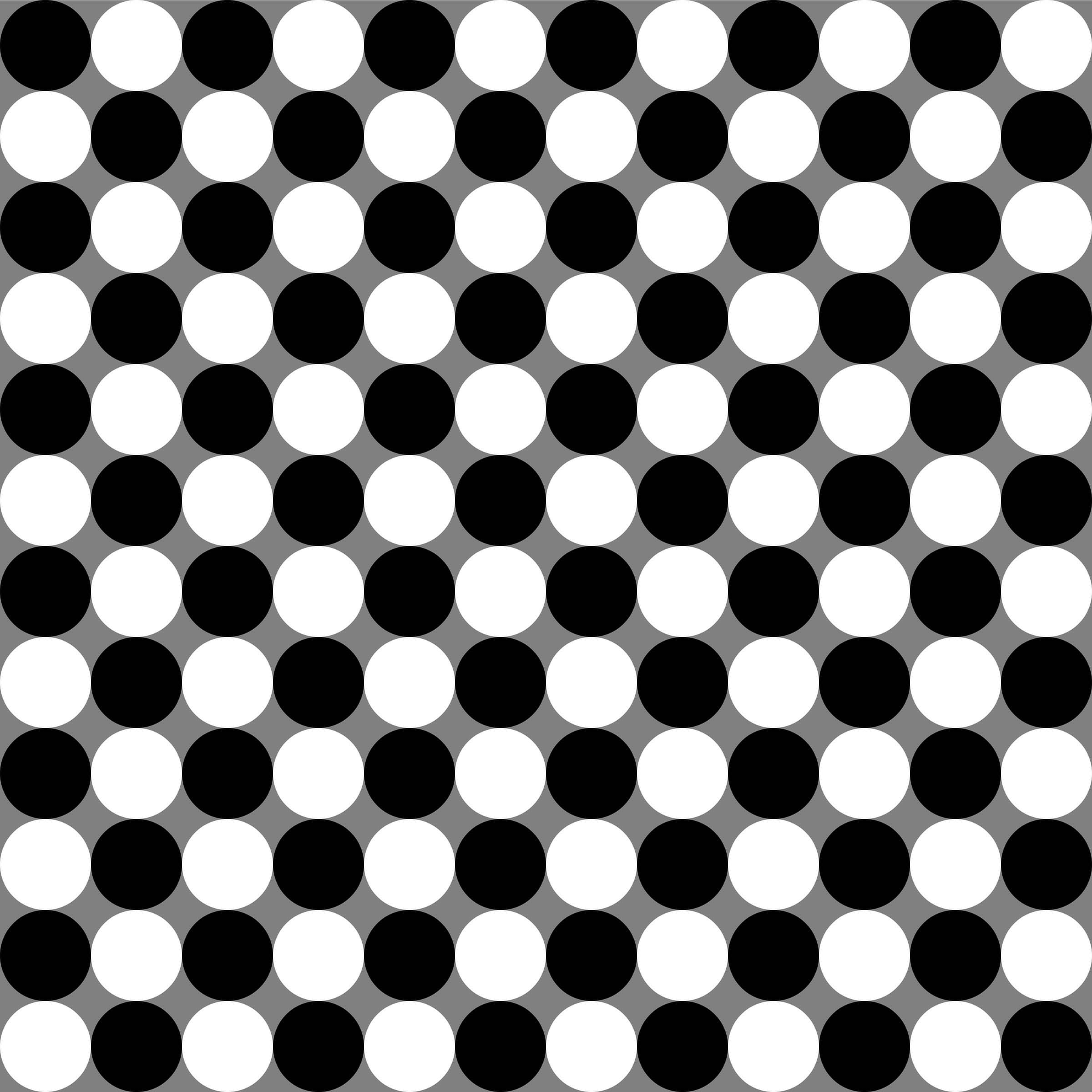 circles chessboard by 10binary
