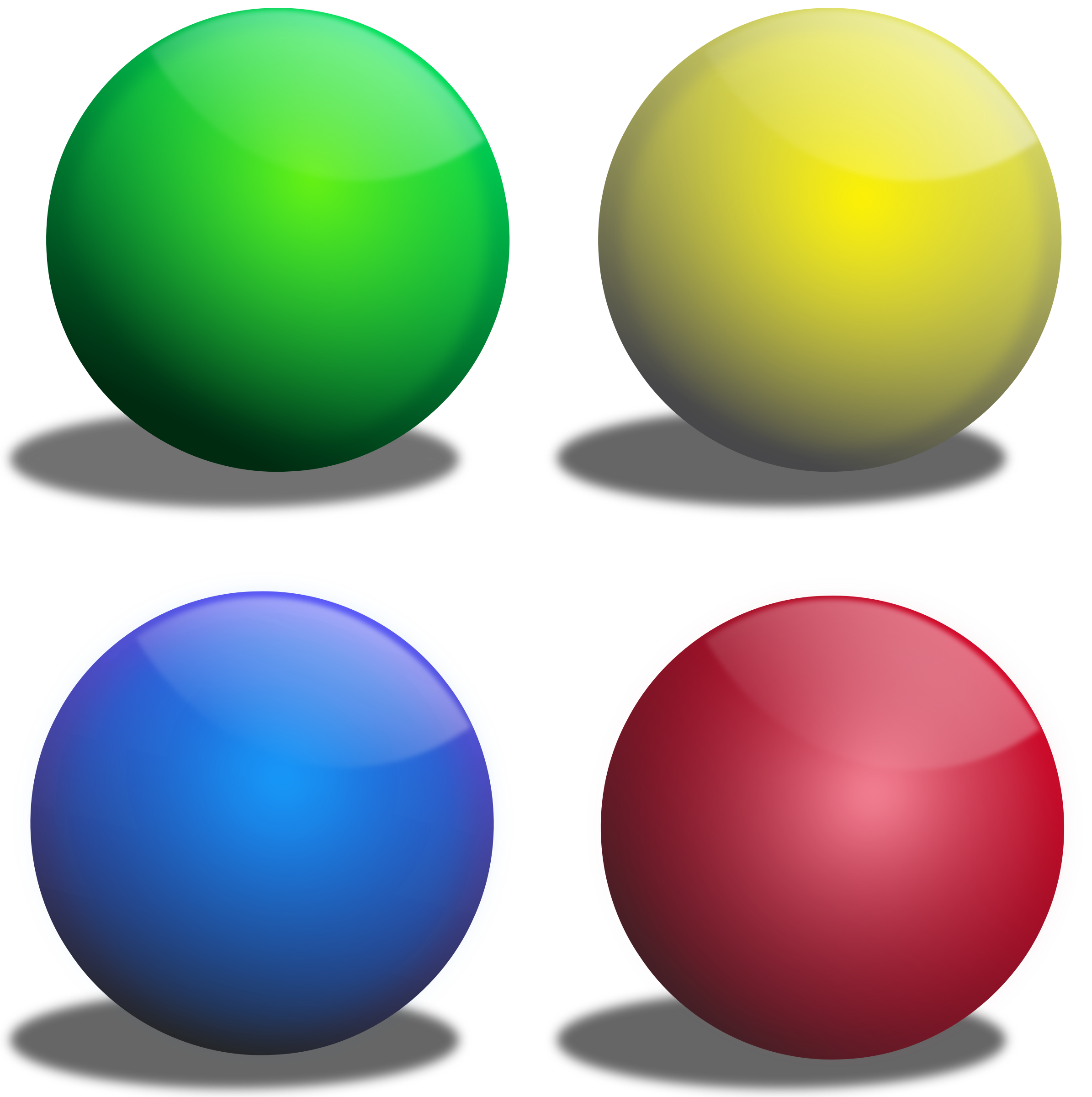 Color spheres, Esferas de colores by Ehecatl1138