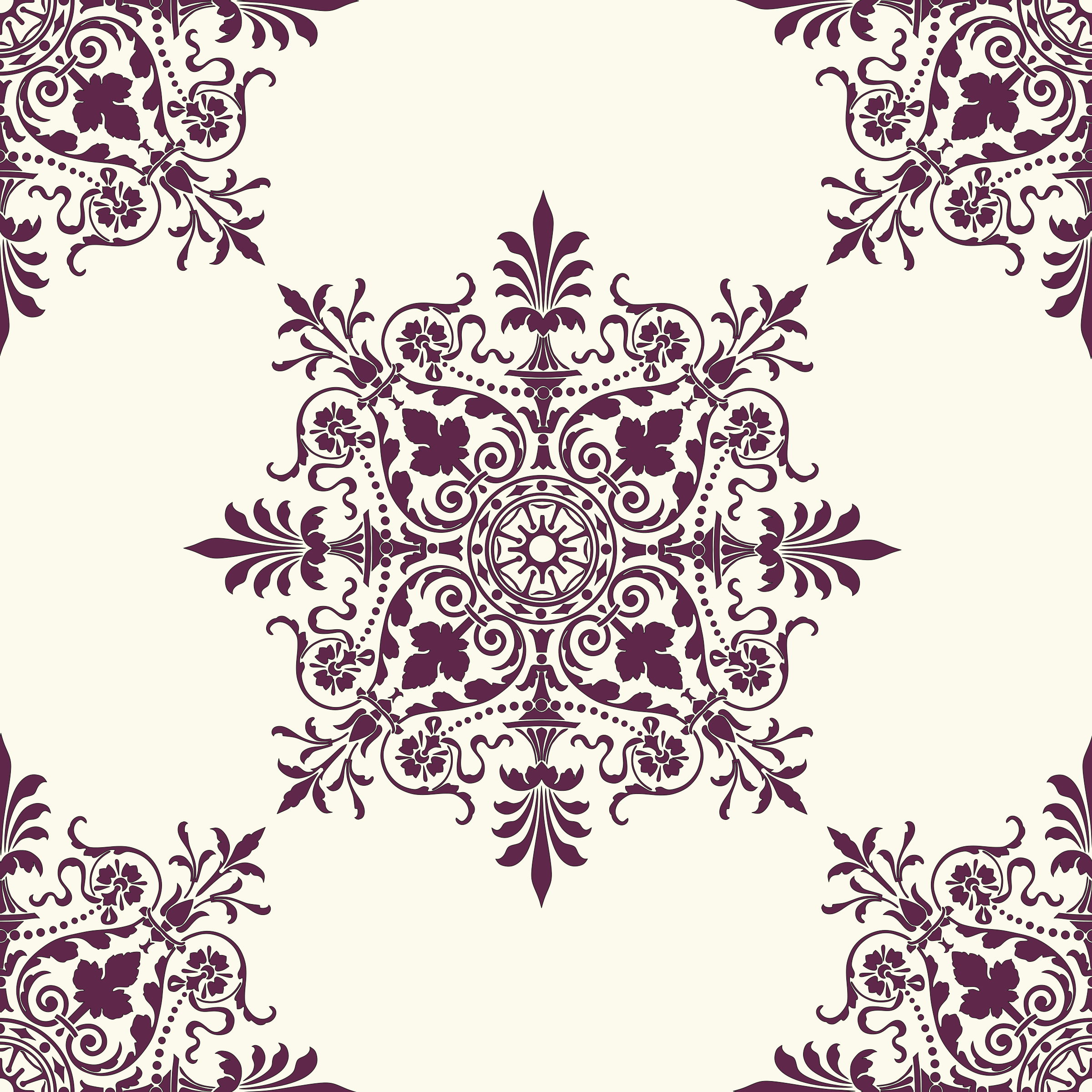 Victorian Background Ornament 2 by kuba