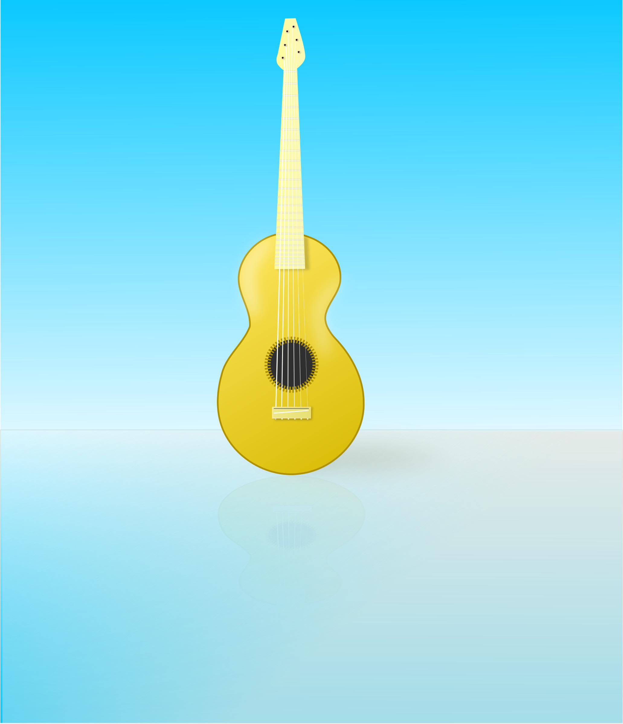guitar by me4tanik