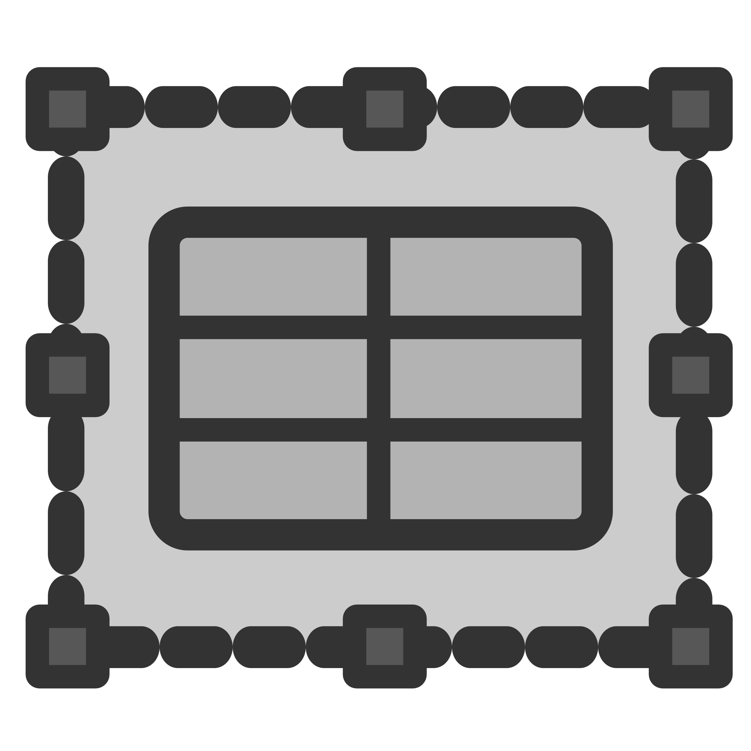 Spreadsheet Frame Icon by dannya