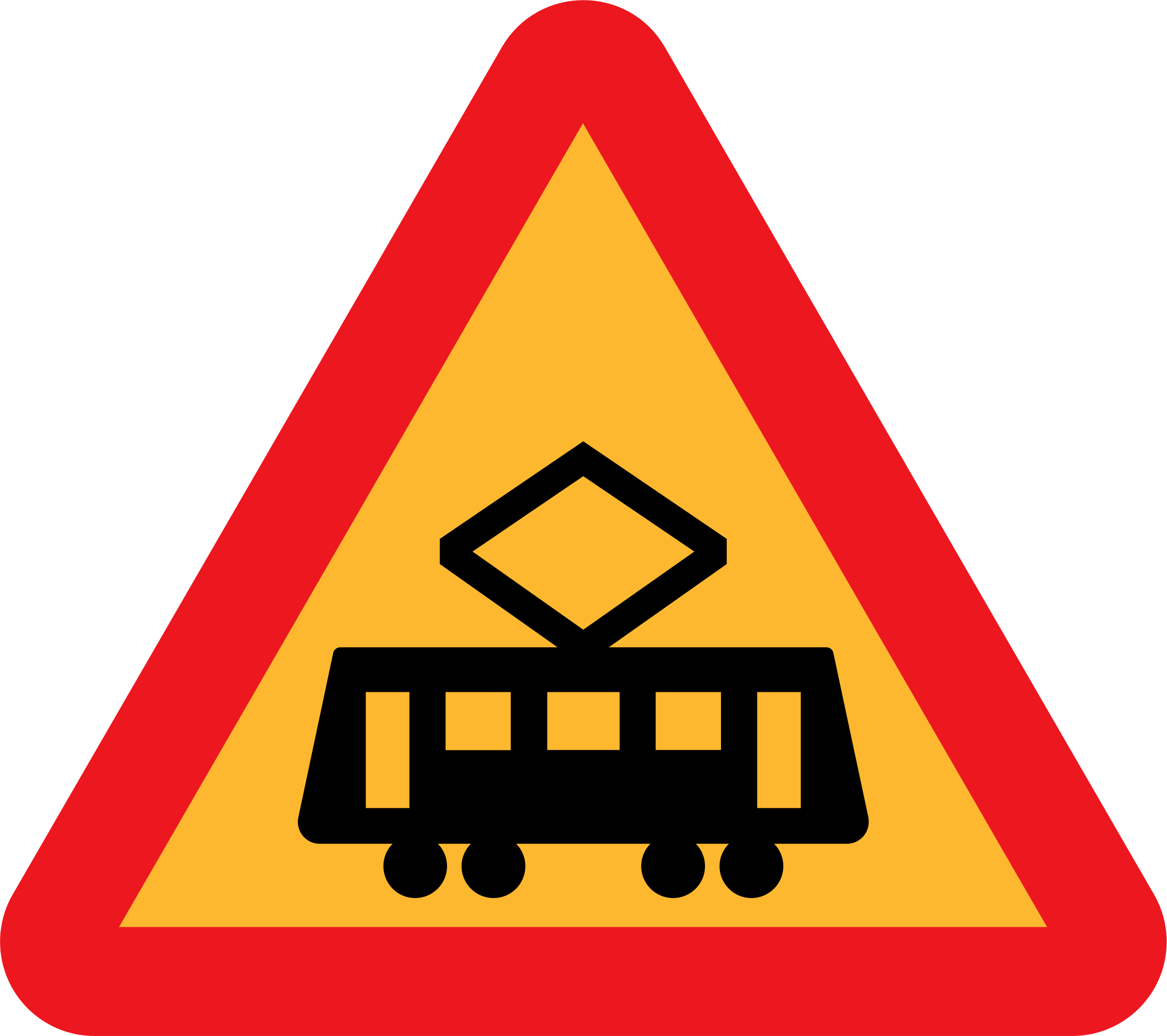 tram roadsign by ryanlerch